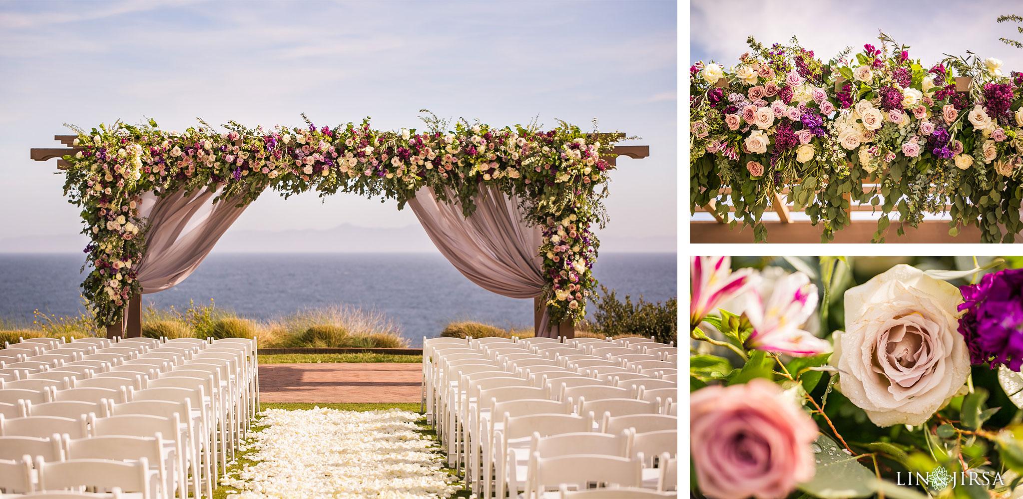 19 terranea resort rancho palos verdes wedding ceremony photography