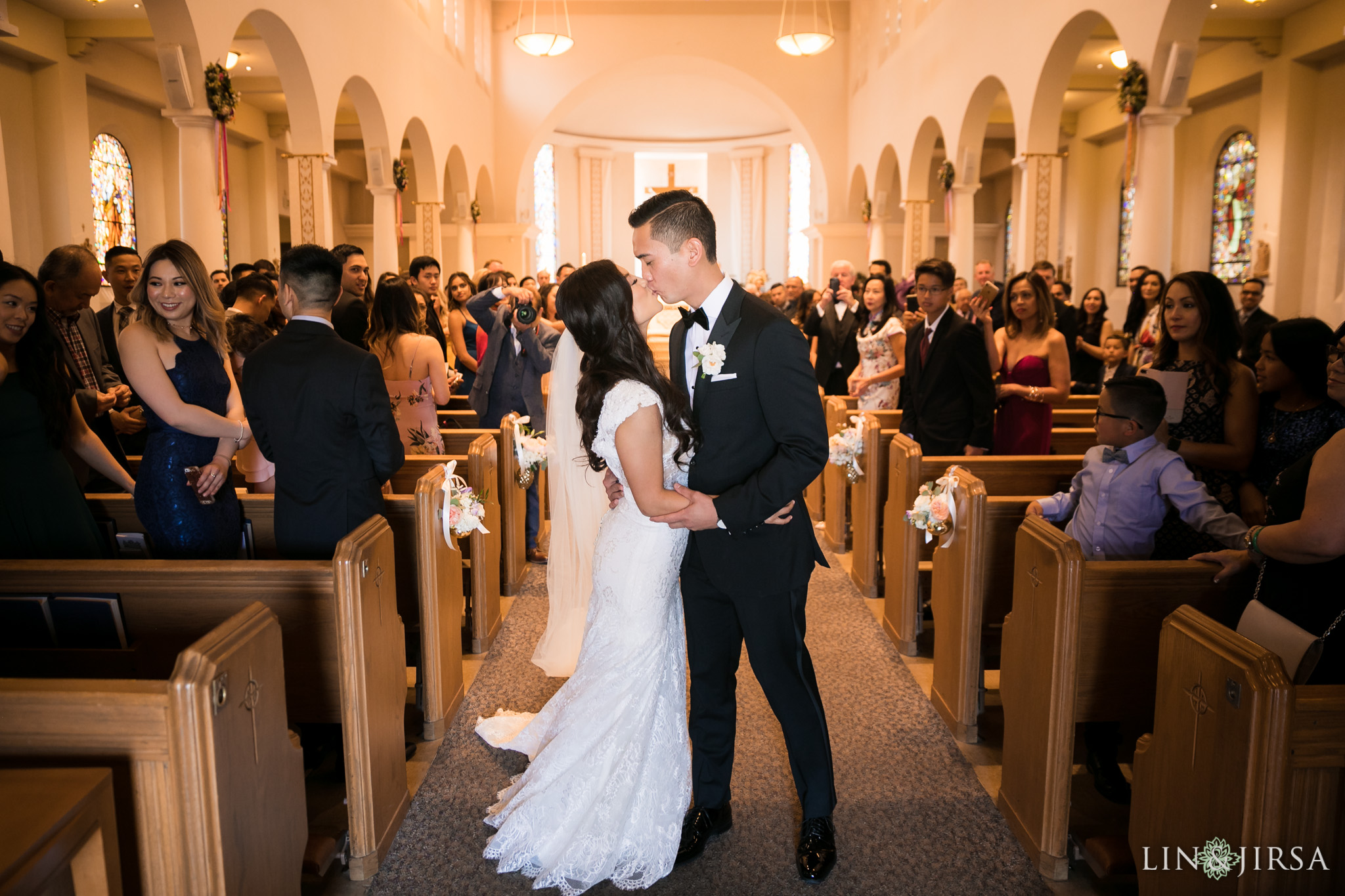 20 good shepherd catholic church los angeles wedding ceremony photography