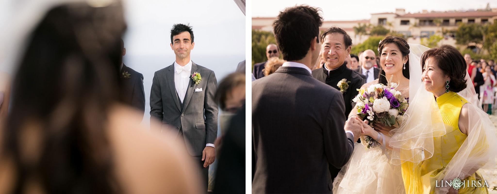 21 terranea resort rancho palos verdes wedding ceremony photography