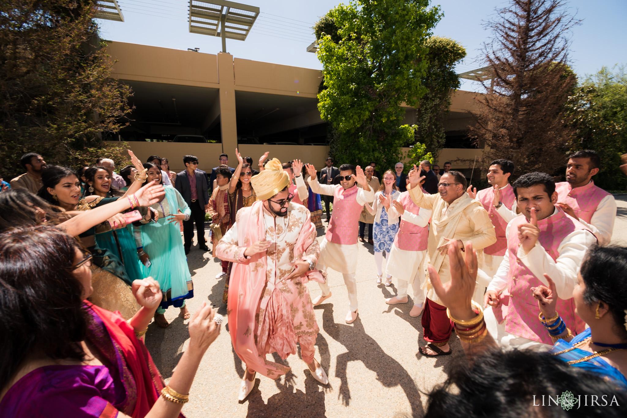 23 four seasons westlake village indian baraat wedding photography