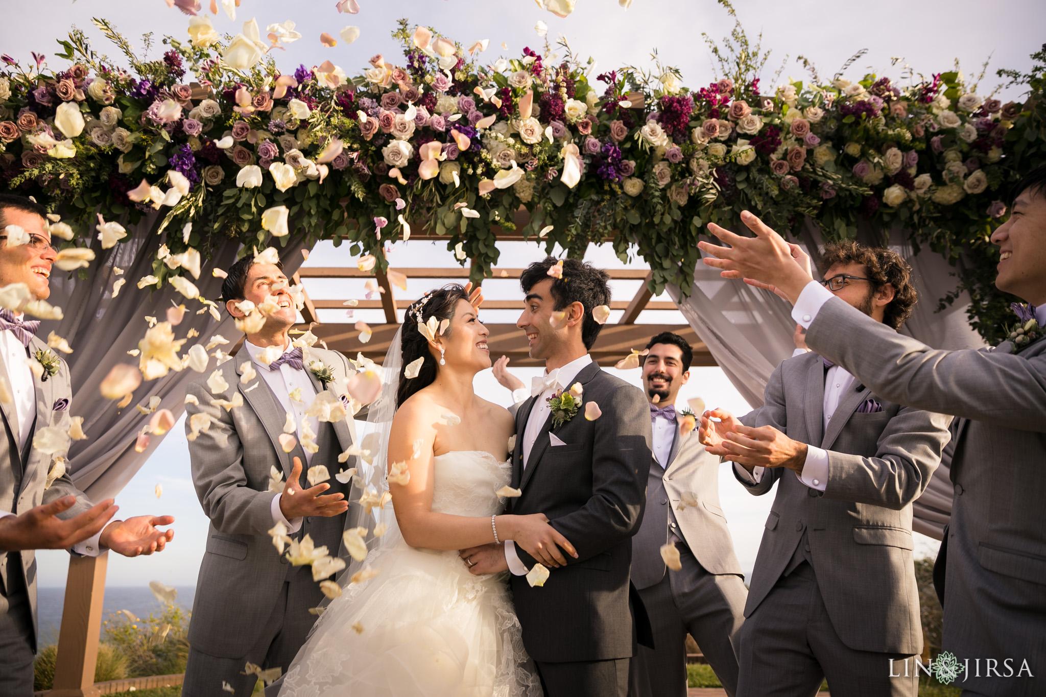 24 terranea resort rancho palos verdes wedding ceremony photography