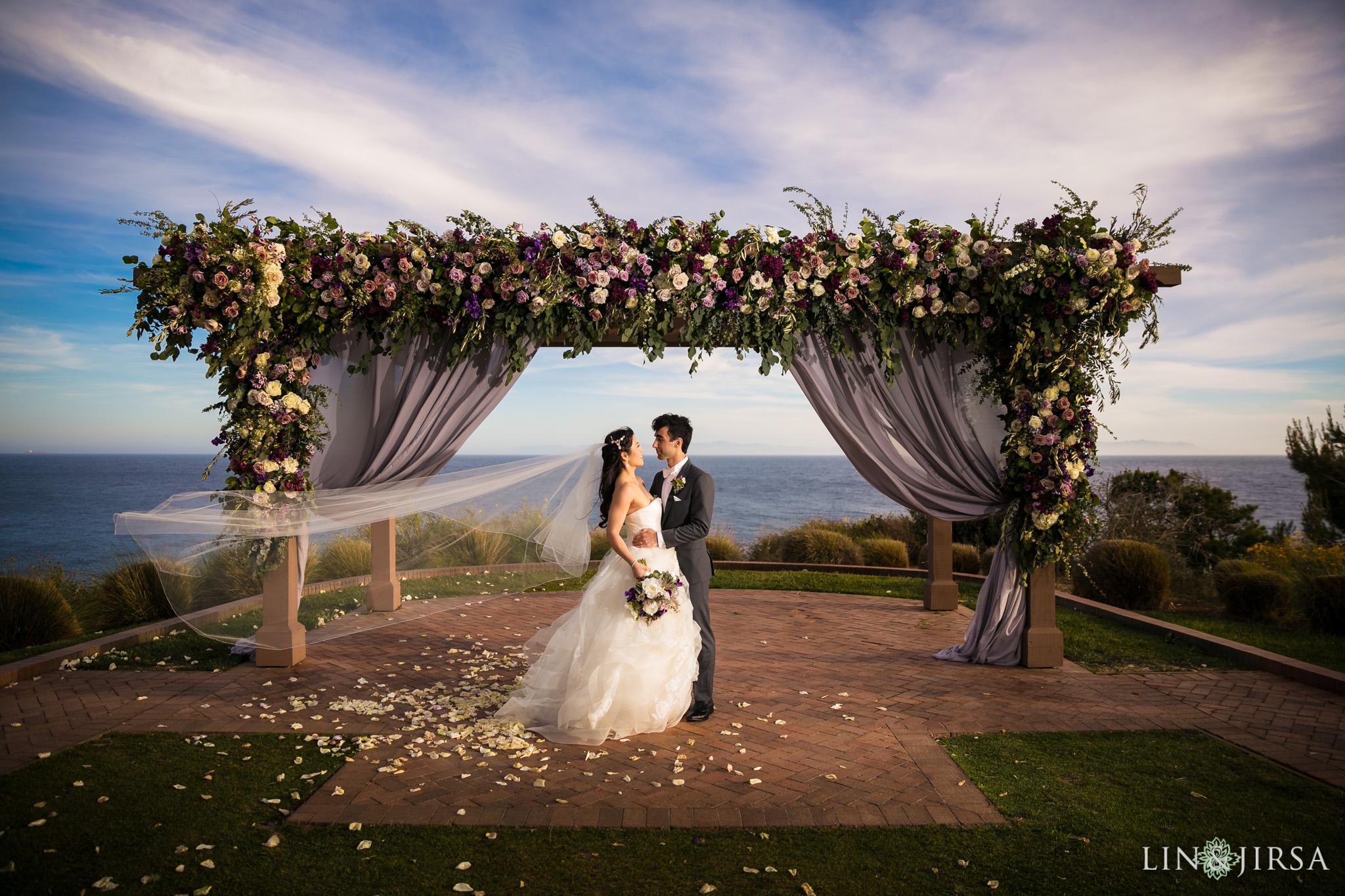 25 terranea resort rancho palos verdes wedding ceremony photography