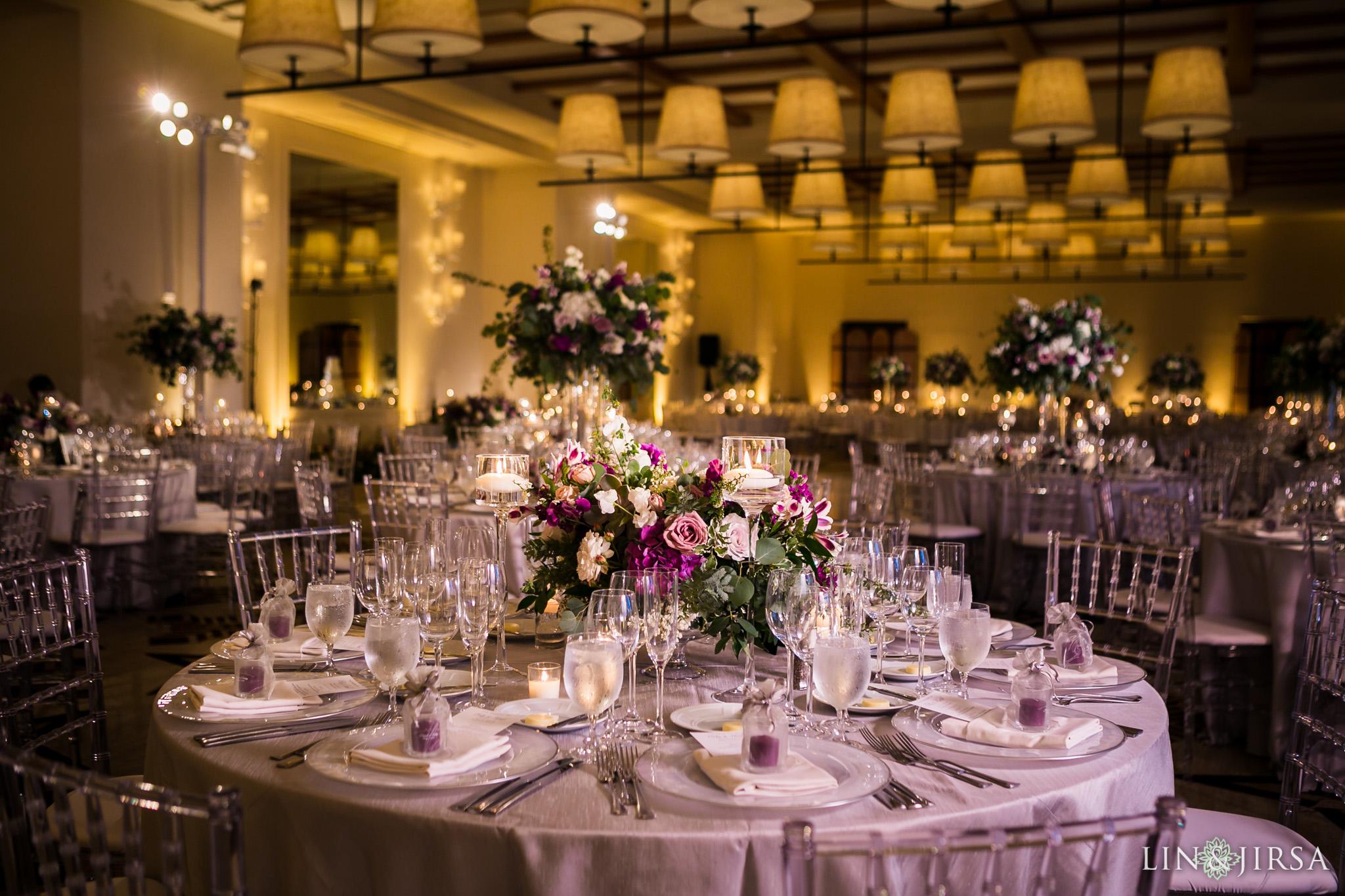 27 terranea resort rancho palos verdes wedding reception photography