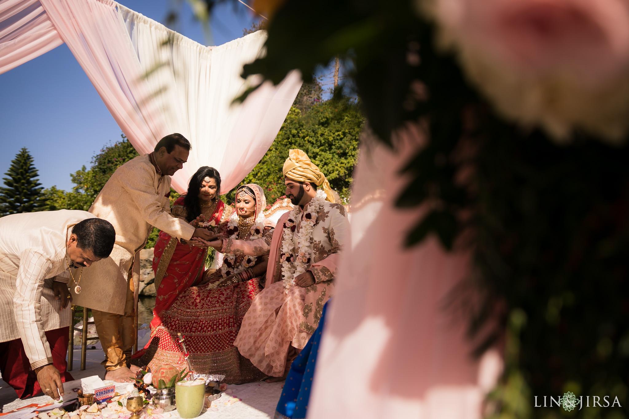 32 four seasons westlake village indian wedding ceremony photography