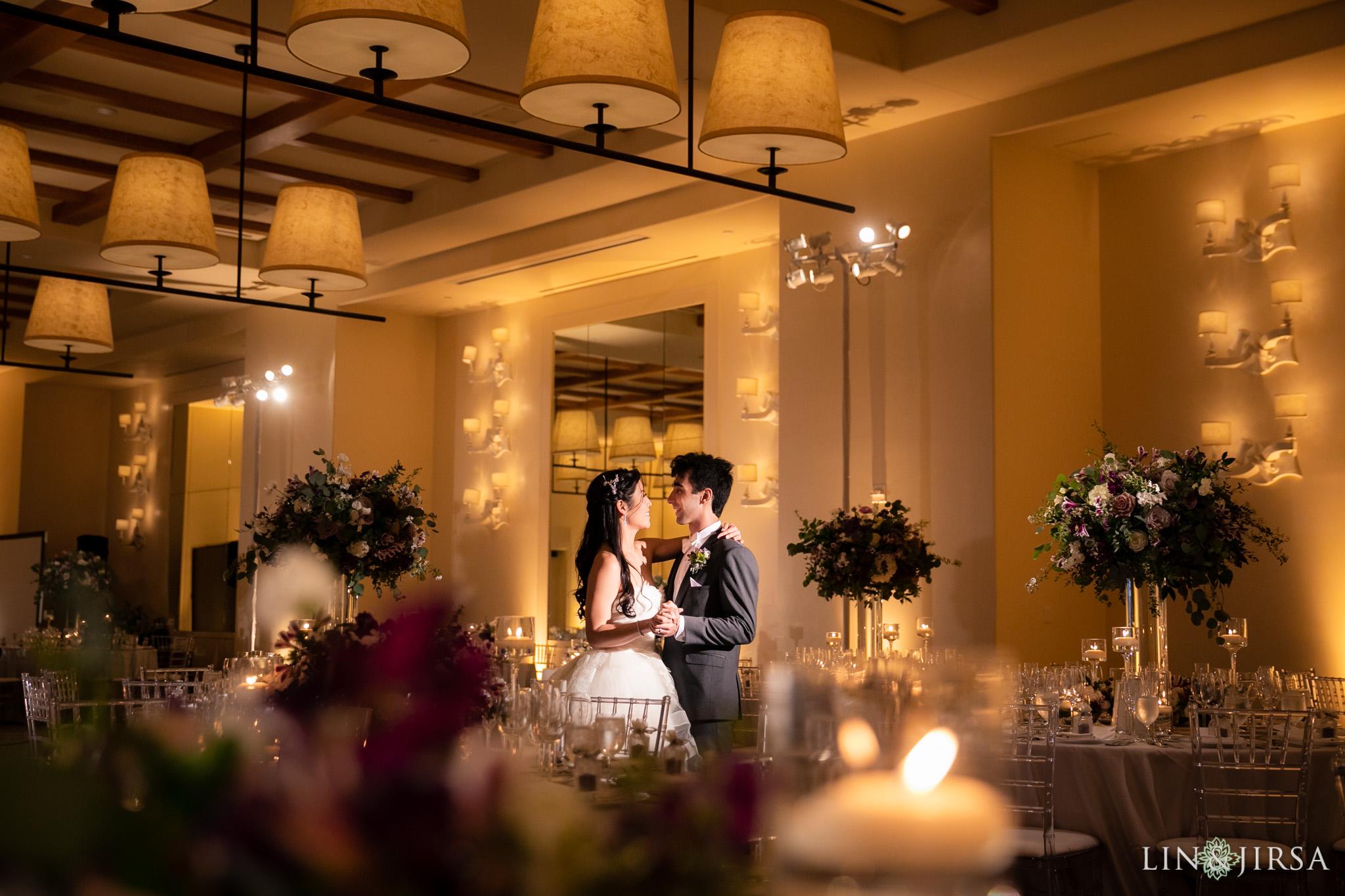 32 terranea resort rancho palos verdes wedding reception photography