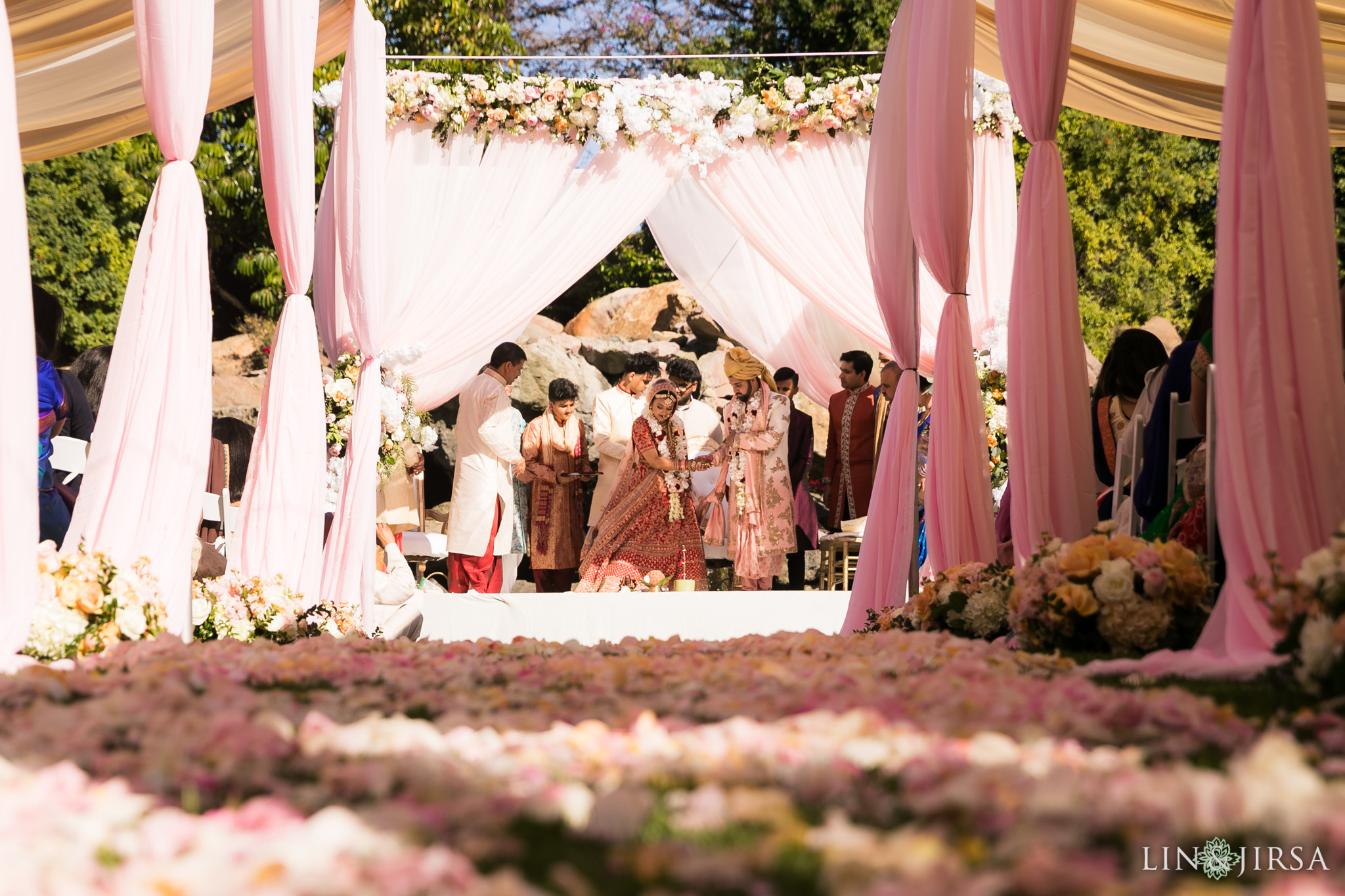 33 four seasons westlake village indian wedding ceremony photography