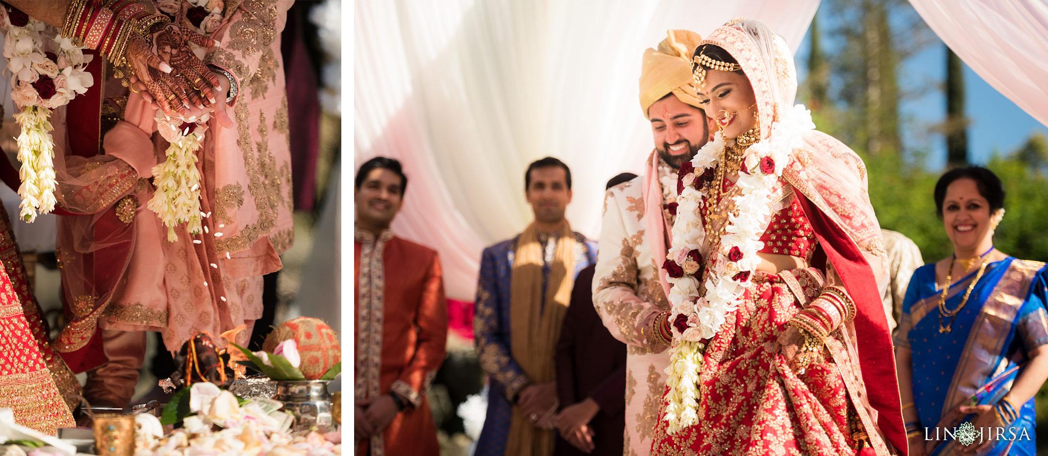 34 four seasons westlake village indian wedding ceremony photography