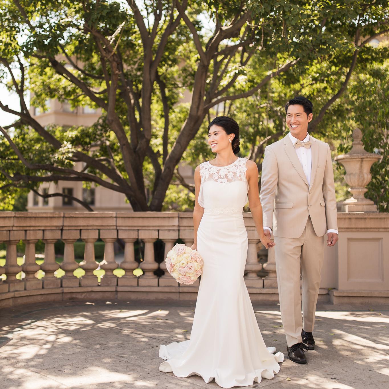Langham Huntington Pasadena Stylized Chinese Wedding