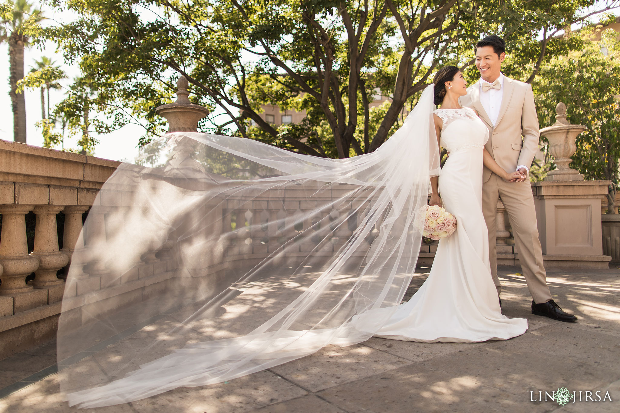 08 langham pasadena chinese couple wedding photography