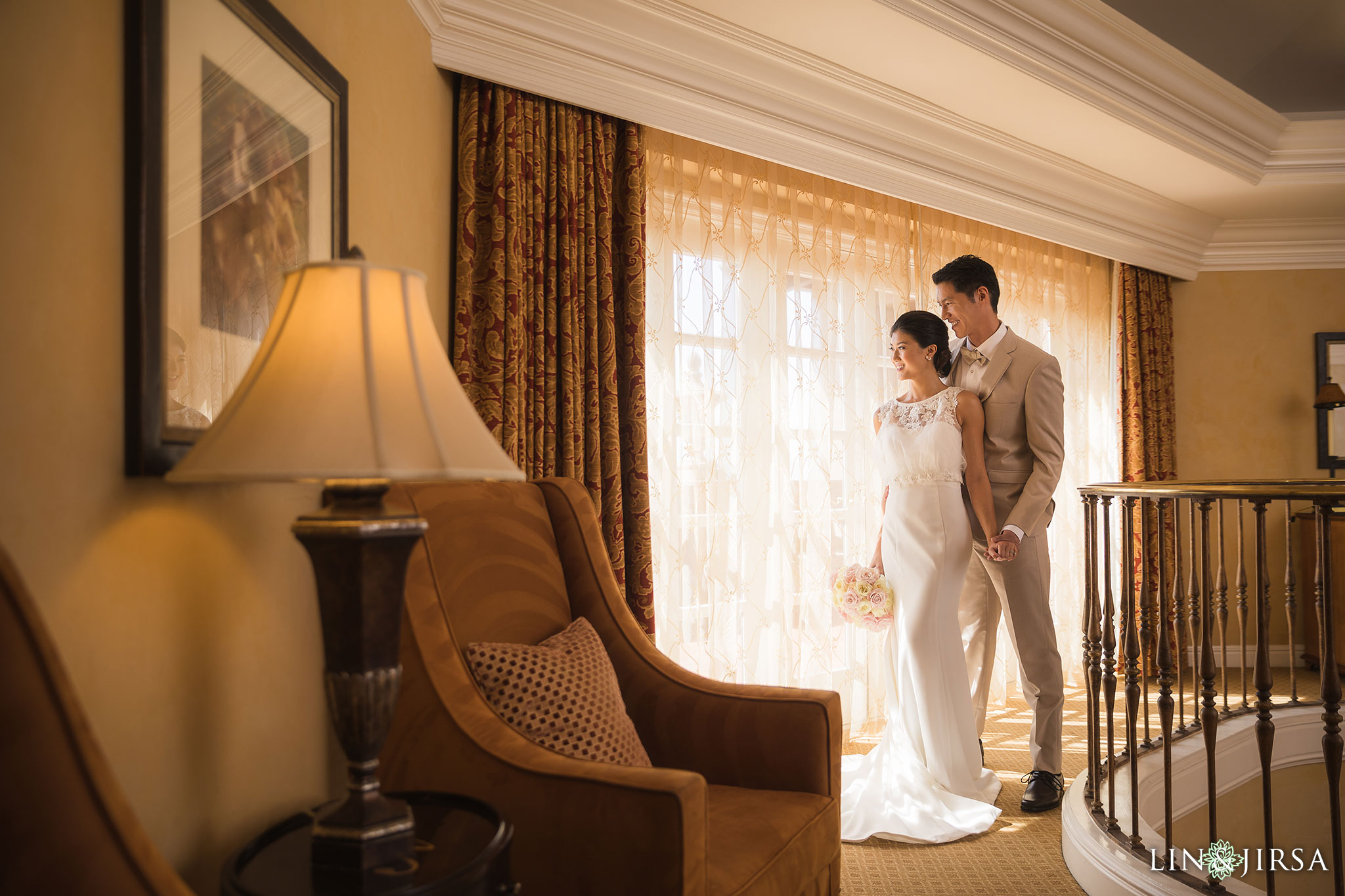 10 langham pasadena chinese couple wedding photography