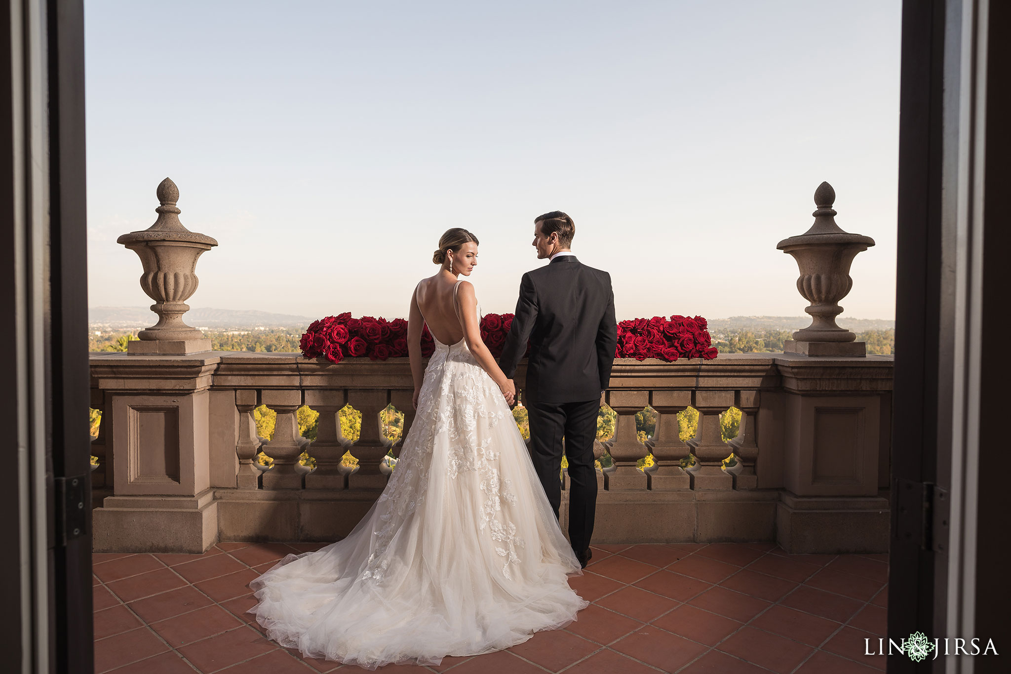 11 langham huntington pasadena wedding bride groom photography