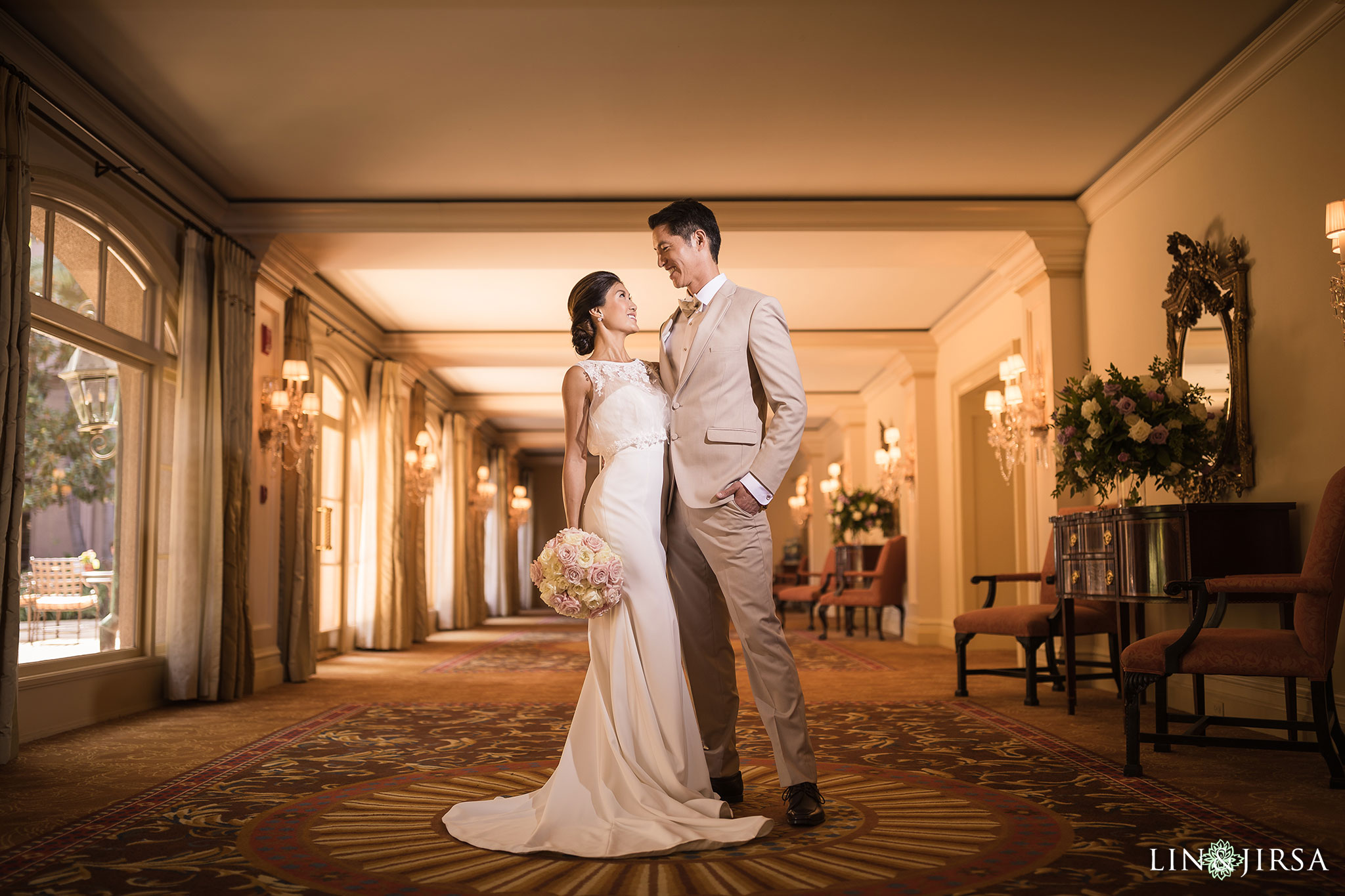 11 langham pasadena chinese couple wedding photography