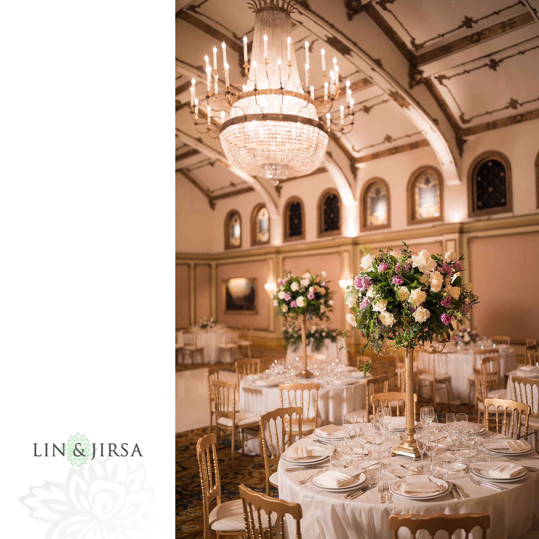 13 langham huntington pasadena wedding reception florals photography