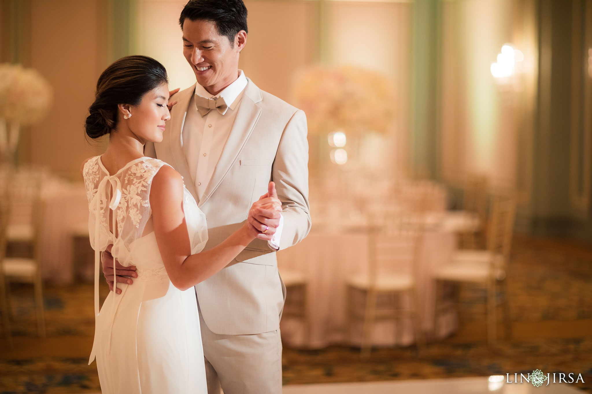 14 langham pasadena chinese couple wedding reception photography