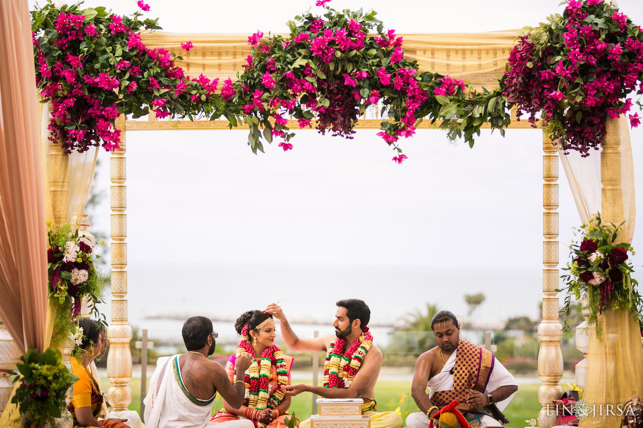 16 laguna cliffs marriott dana point indian wedding ceremony photography