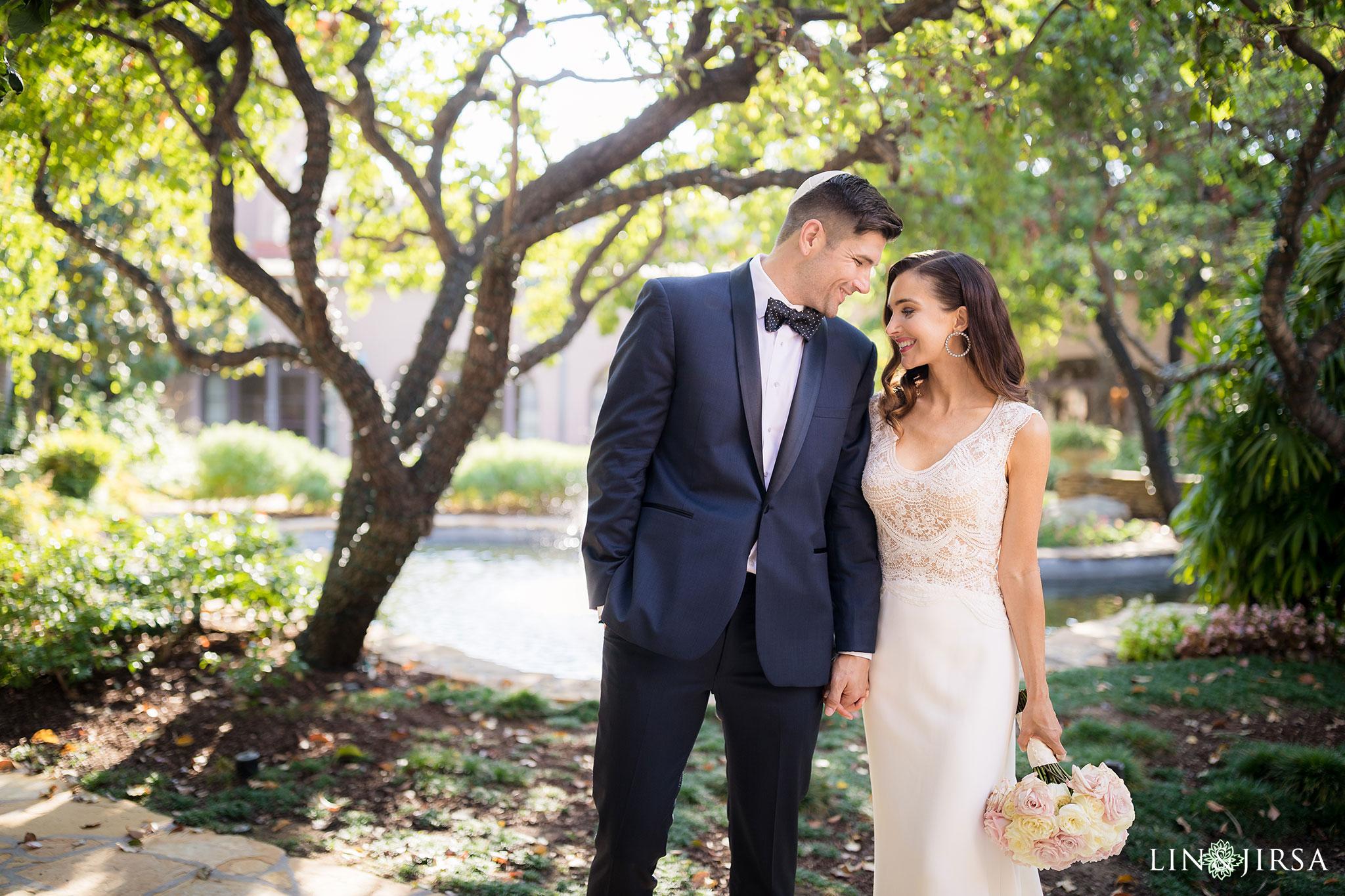 16 langham pasadena jewish couple wedding photography