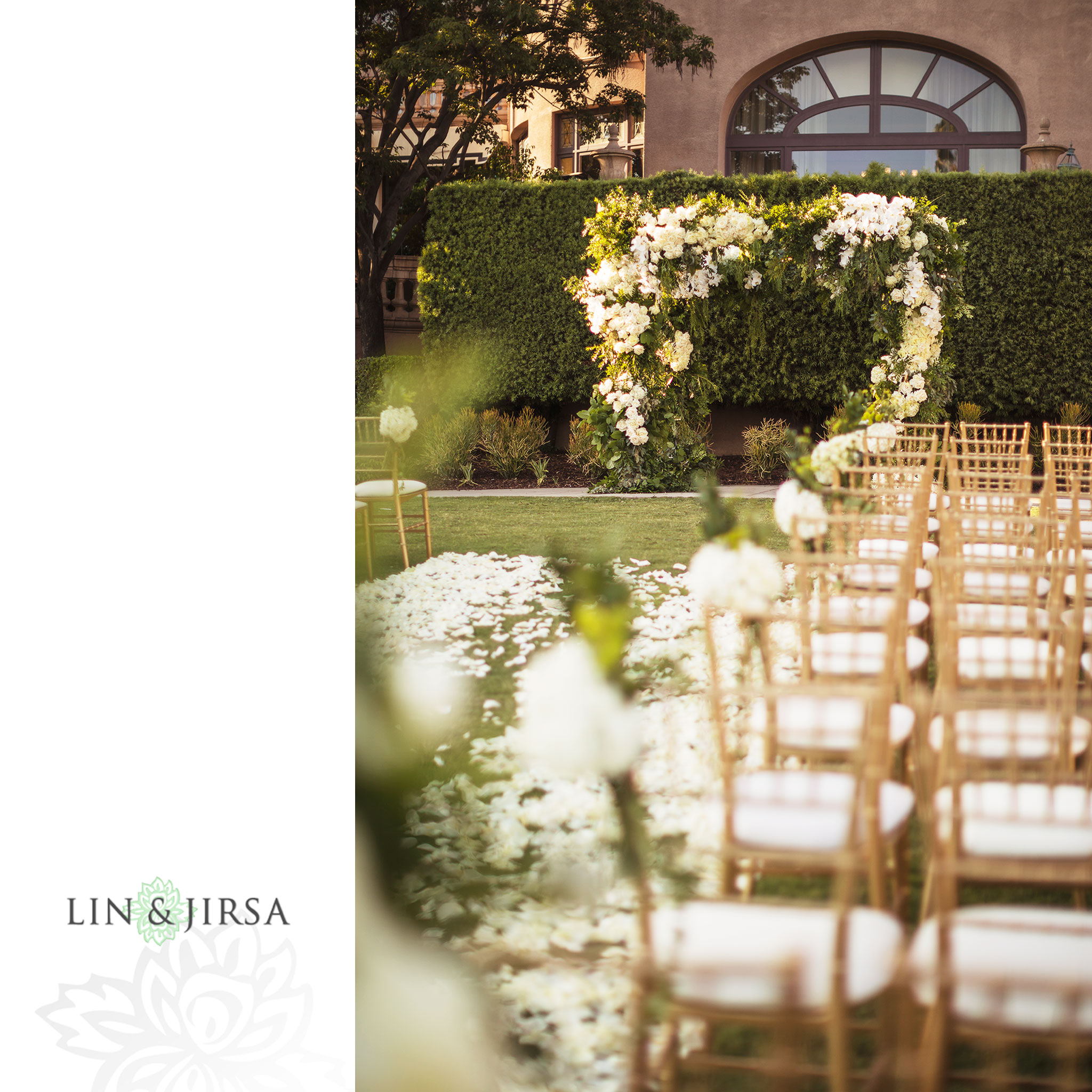 17 langham pasadena jewish wedding ceremony photography