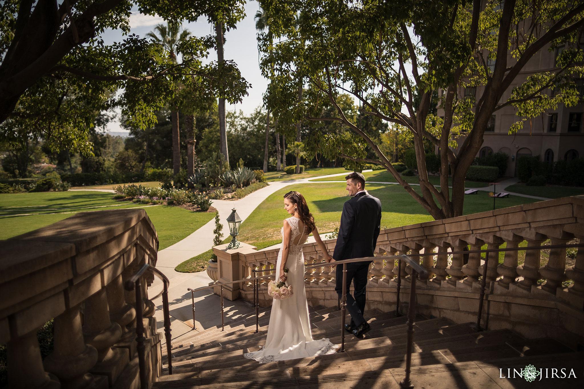 20 langham pasadena jewish couple wedding photographer