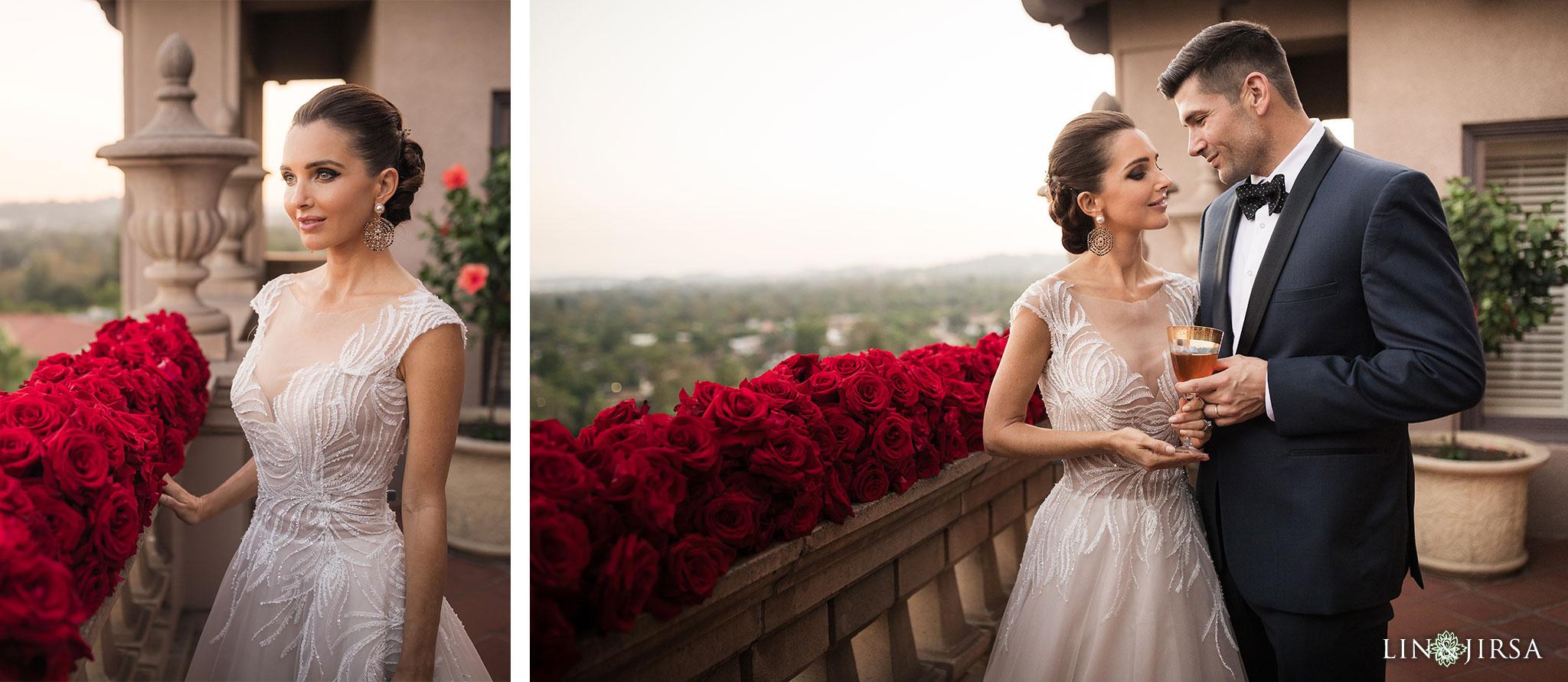 22 langham pasadena jewish couple reception photography