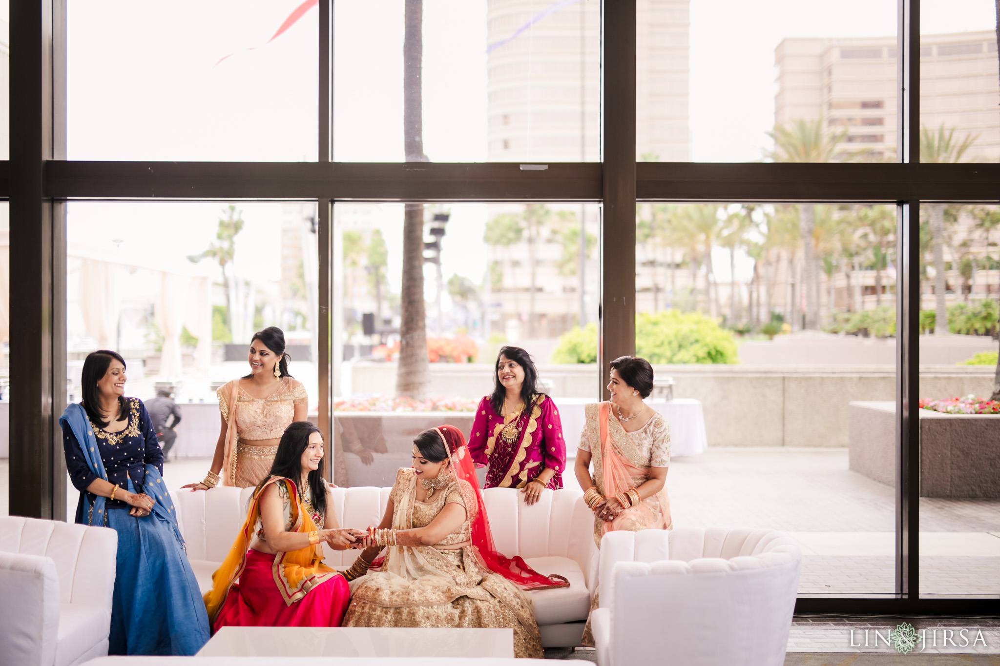 004 Long Beach Performing Arts Center Indian Bride Wedding Photography