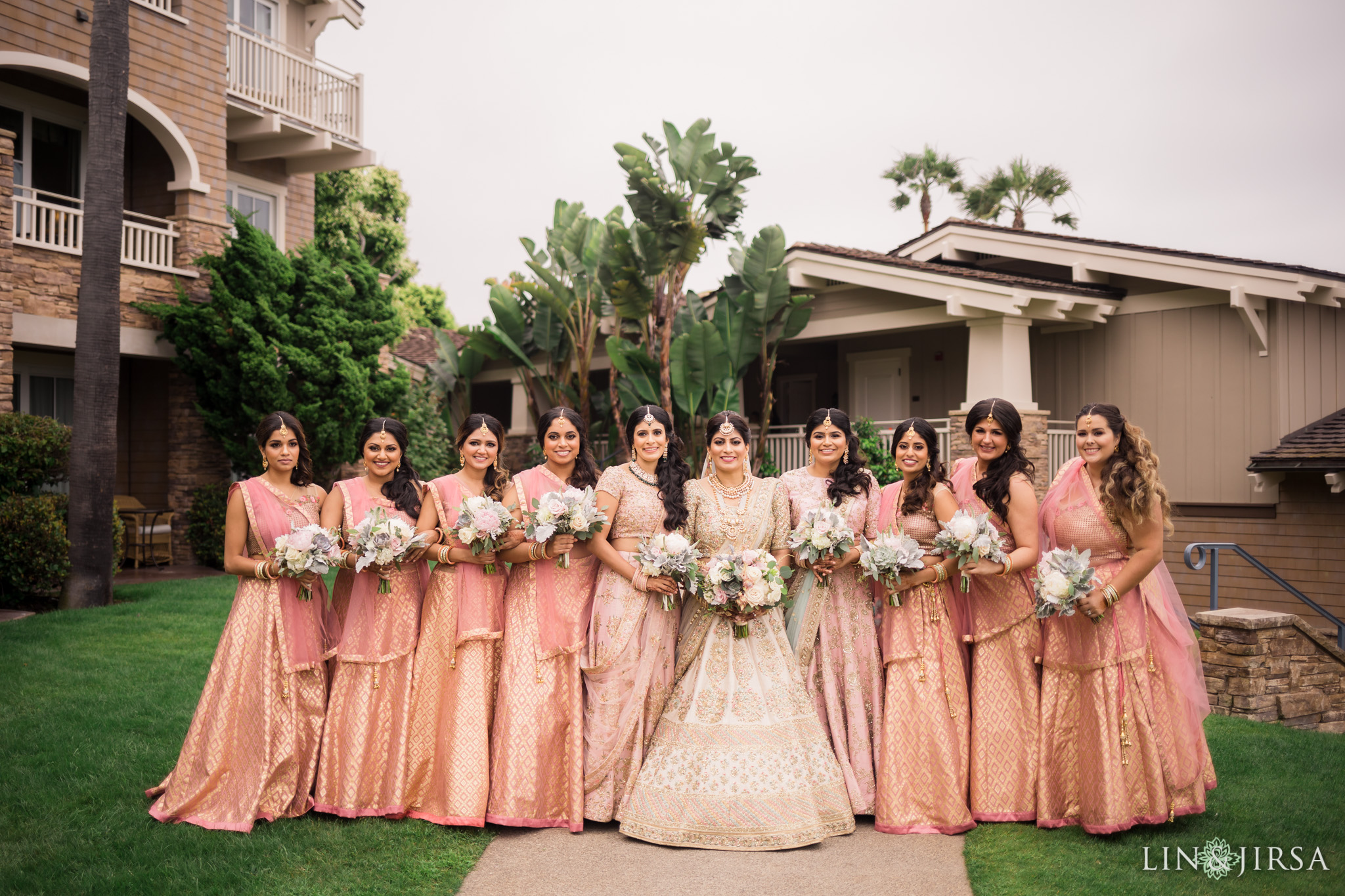 010 montage laguna beach indian bridesmaids wedding photography