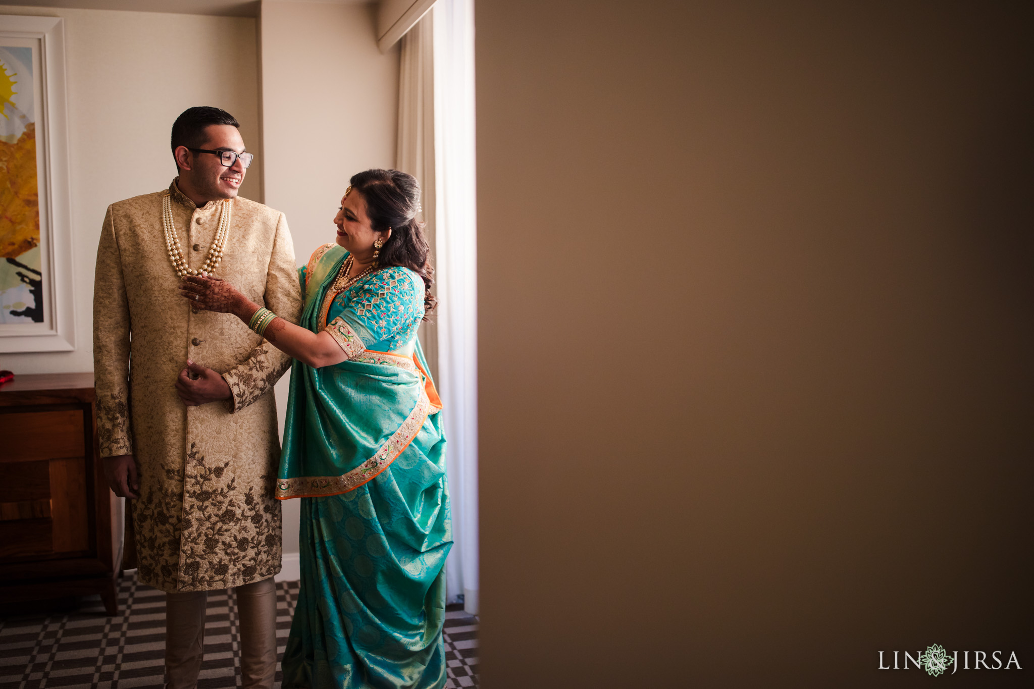 011 Long Beach Performing Arts Center Indian Groom Wedding Photography