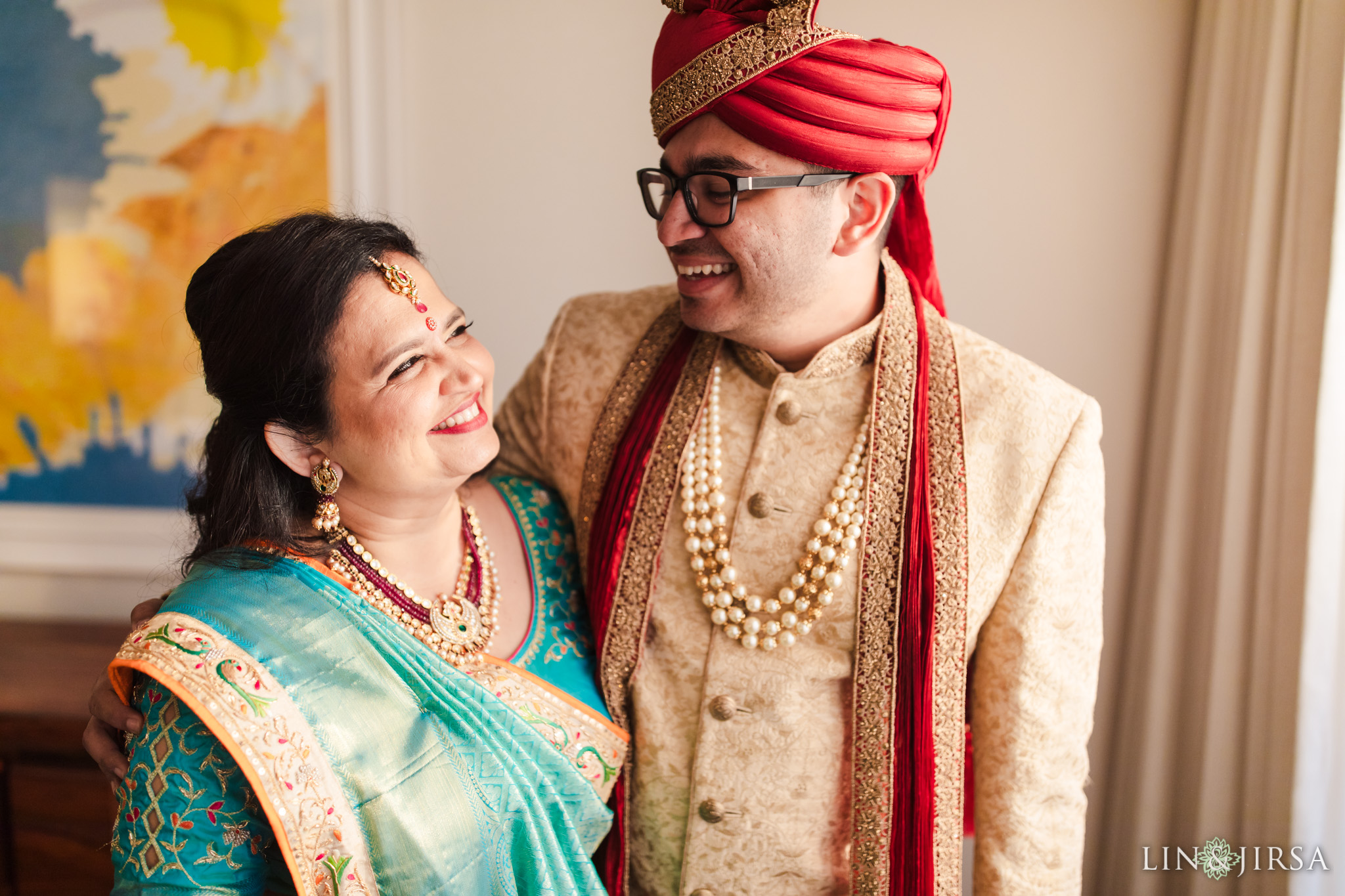014 Long Beach Performing Arts Center Indian Groom Wedding Photography