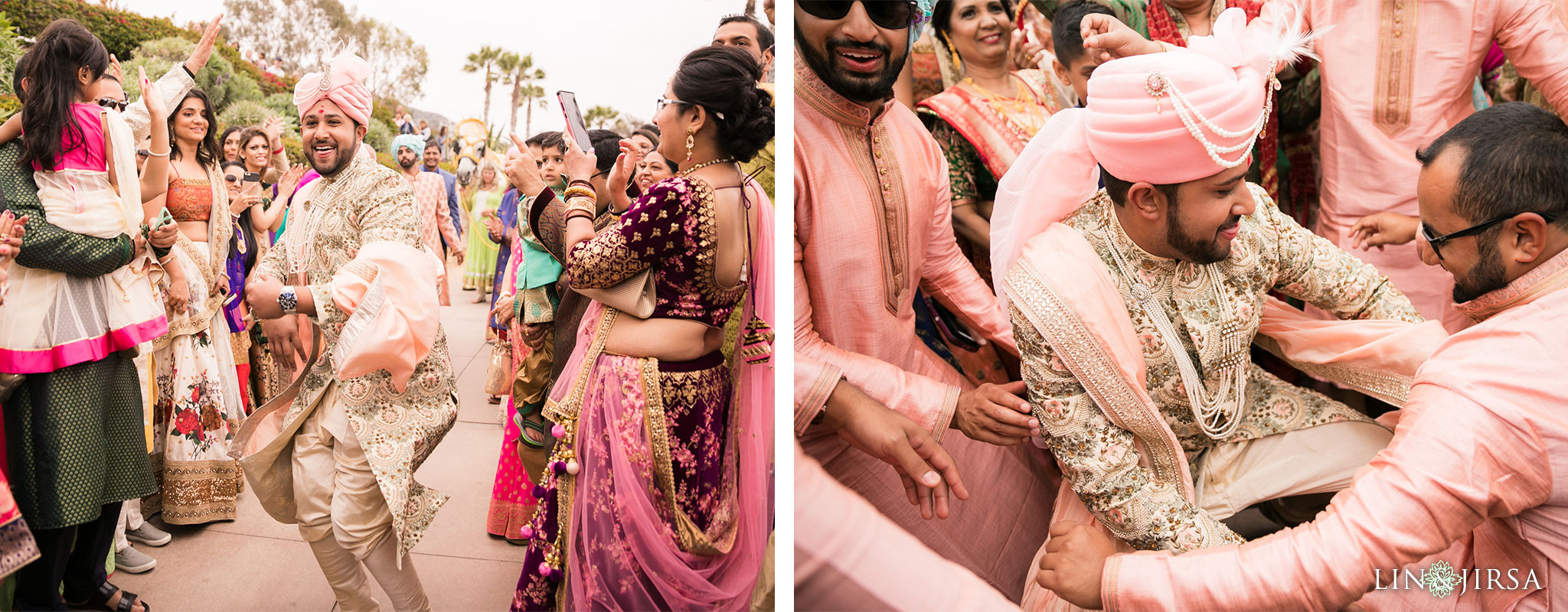 023 montage laguna beach indian baraat wedding photography
