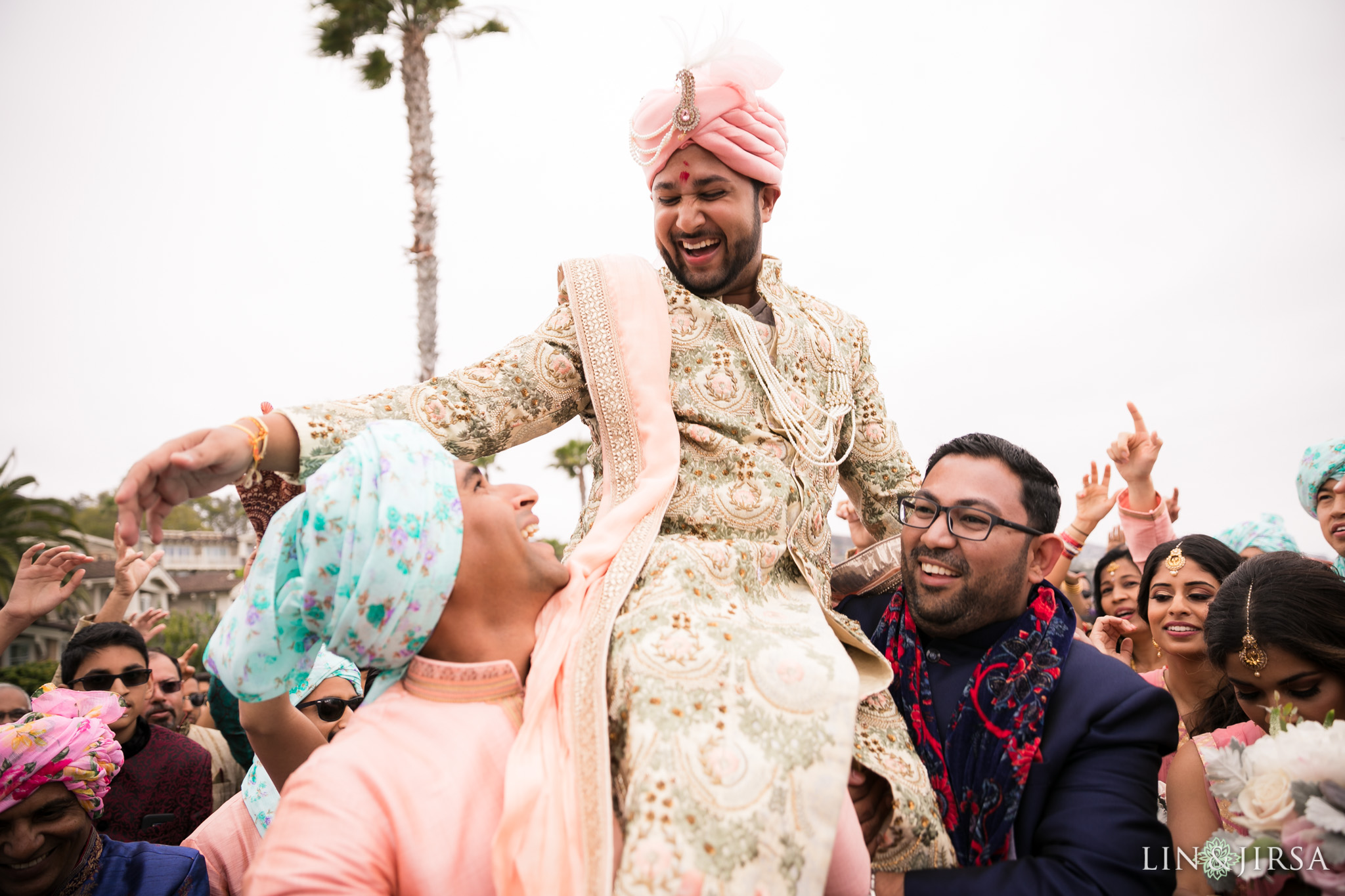 024 montage laguna beach indian baraat wedding photography
