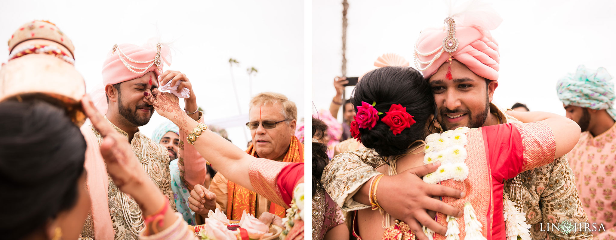 025 montage laguna beach indian baraat wedding photography
