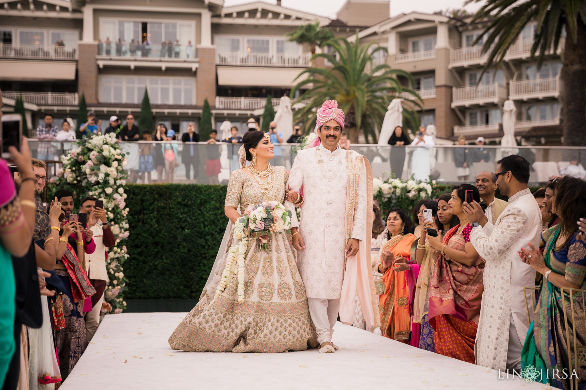 032 montage laguna beach indian wedding ceremony photography