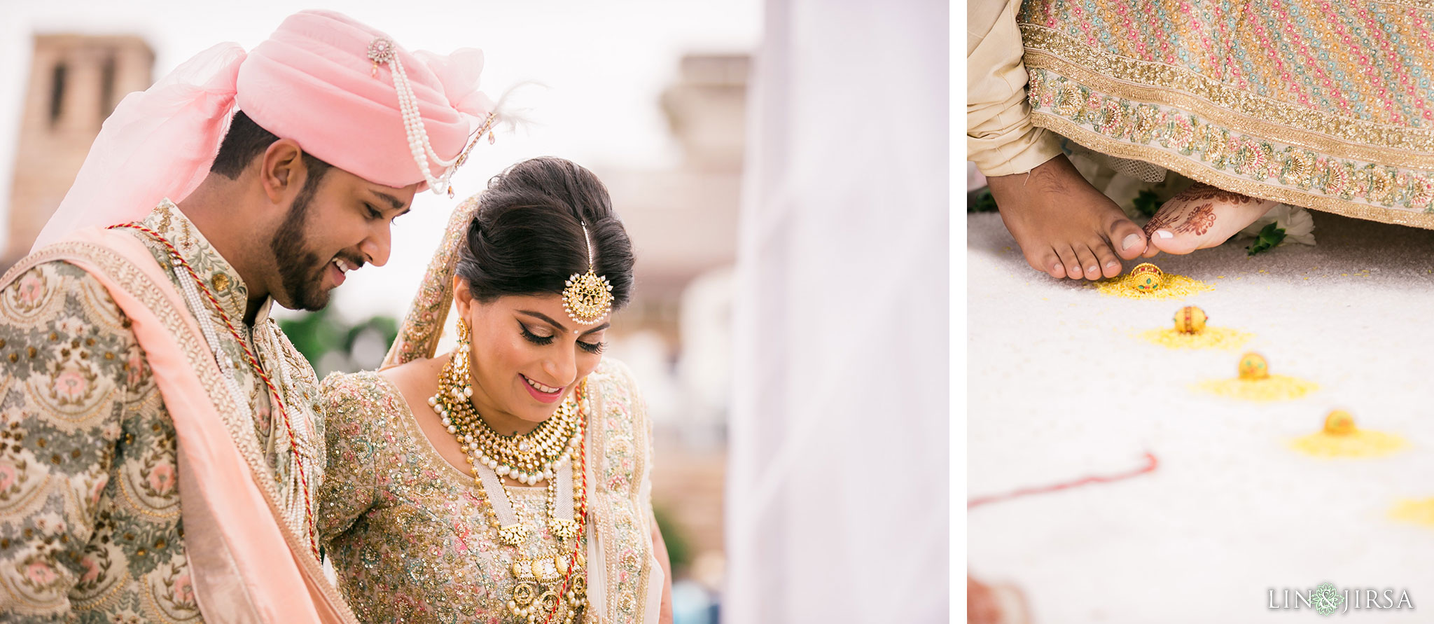 036 montage laguna beach indian wedding ceremony photography