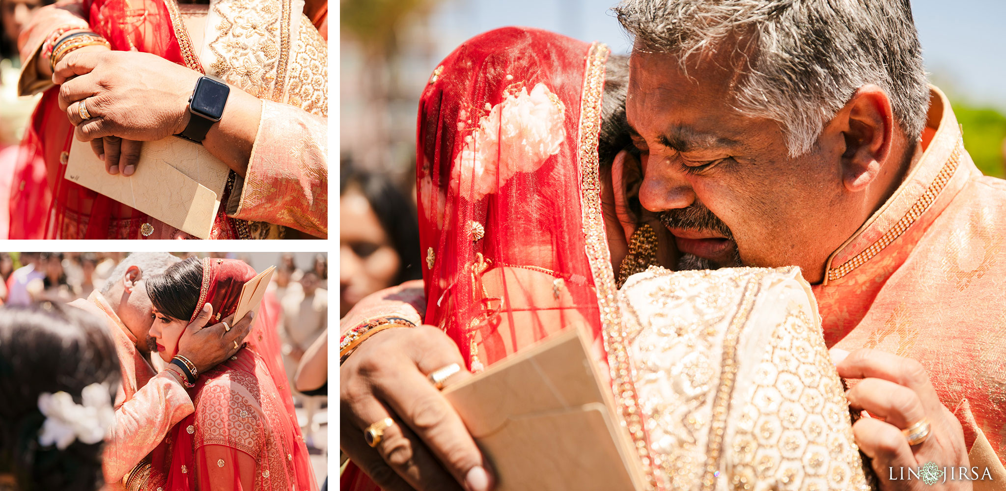 045 Long Beach Performing Arts Center Indian Wedding Vidaai Photography