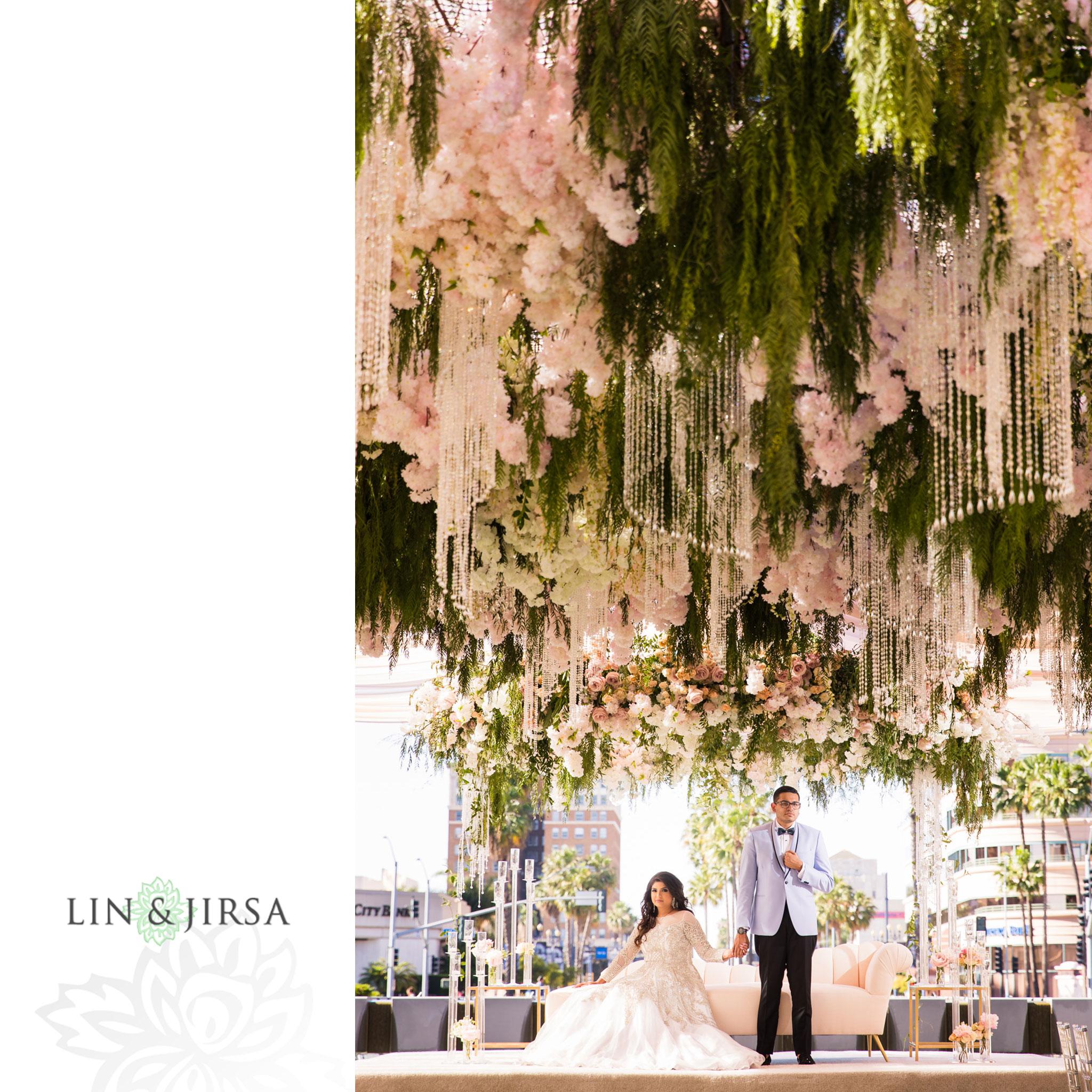 060 Long Beach Performing Arts Center Indian Wedding Reception Photography
