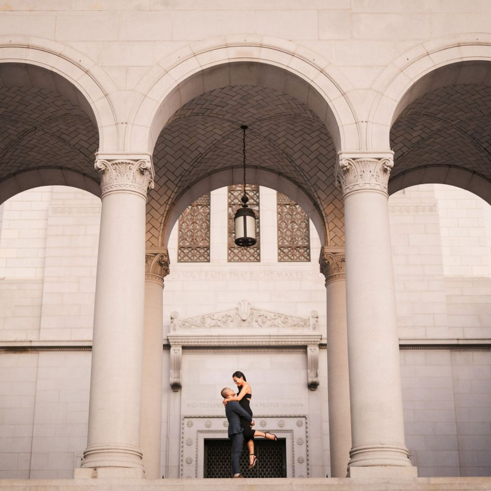 00 downtown los angeles engagement photography