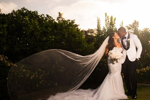 00 park hyatt aviara san diego bride veil wedding photography