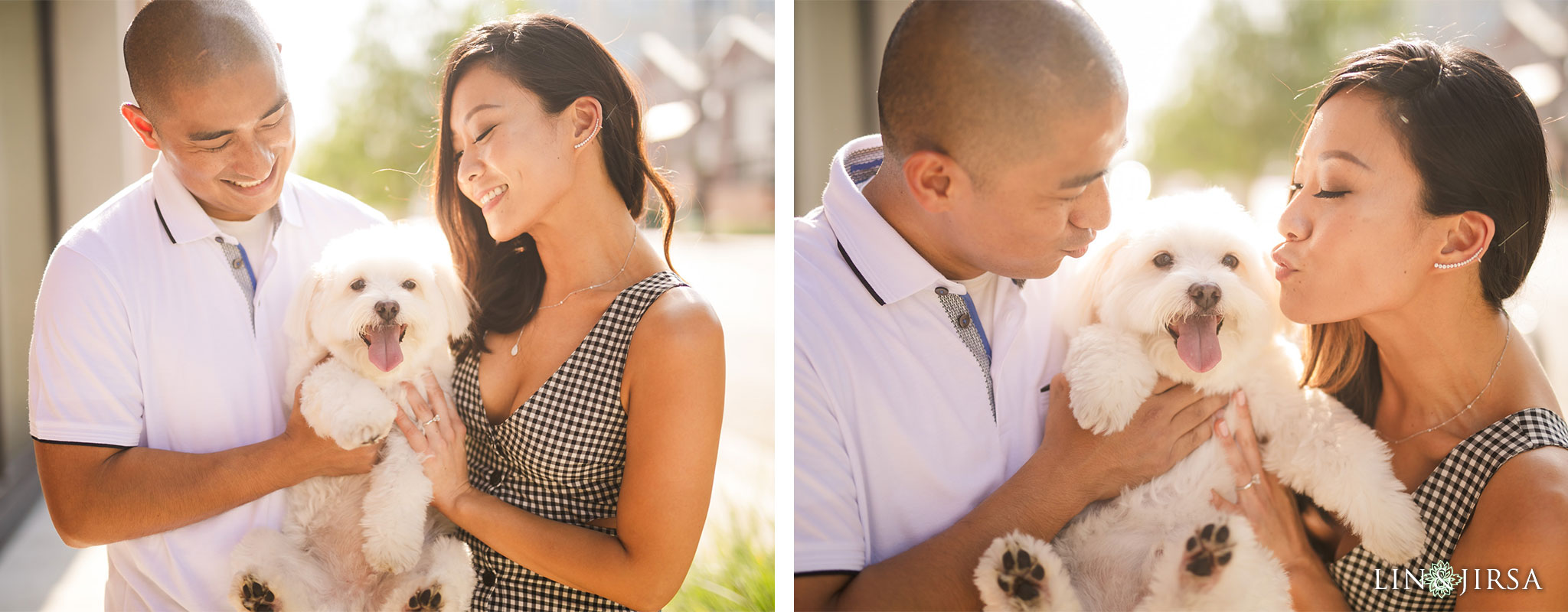 02 downtown los angeles dog engagement photography