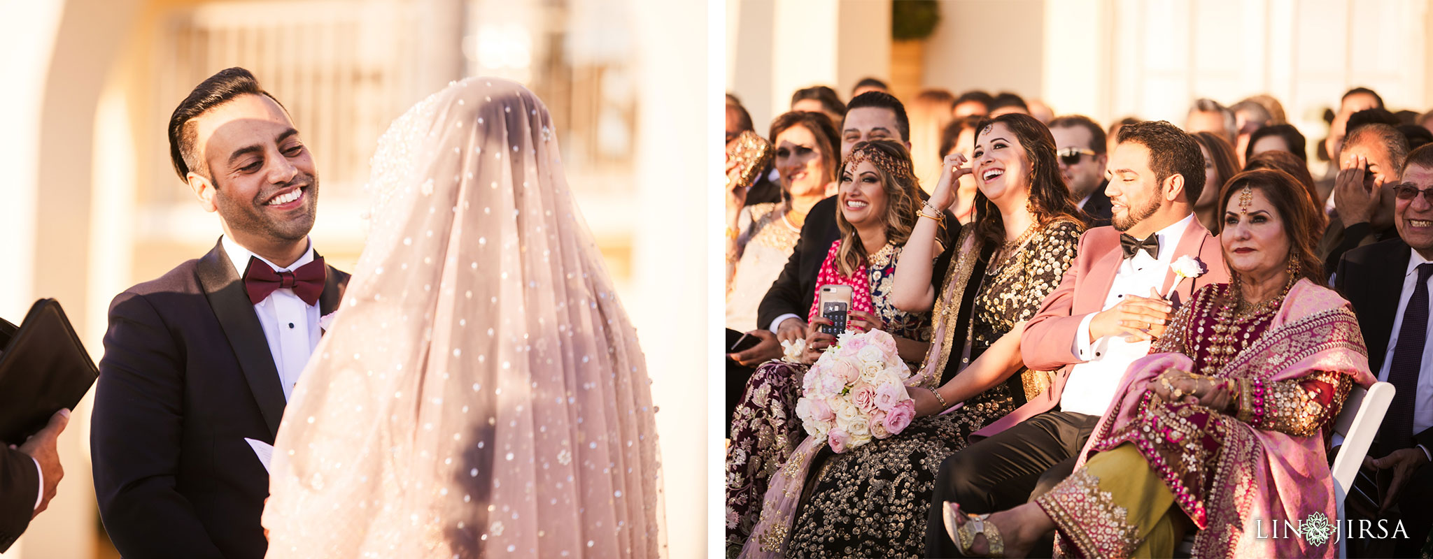 020 ritz carlton laguna niguel south asian wedding ceremony photography