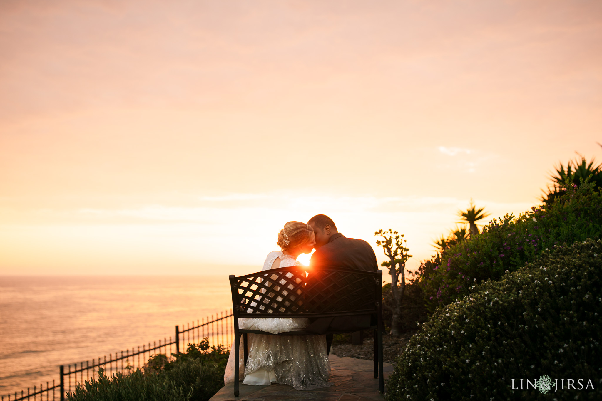 021 casa romantica san clemente sunset wedding photography