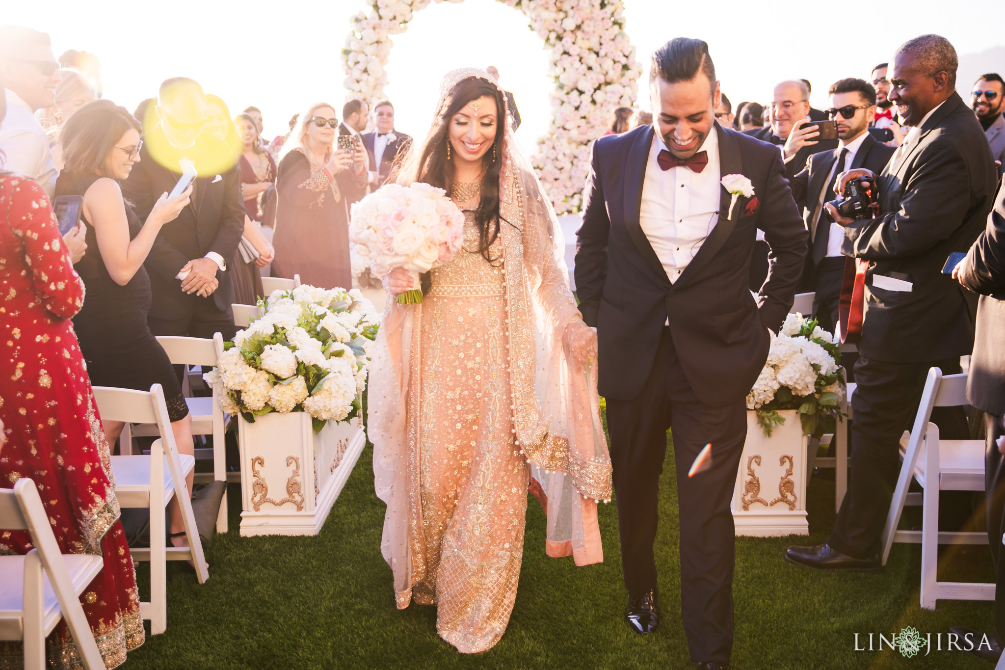 022 ritz carlton laguna niguel south asian wedding ceremony photography