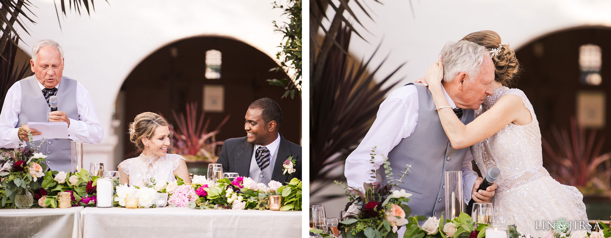 027 casa romantica san clemente wedding reception photography
