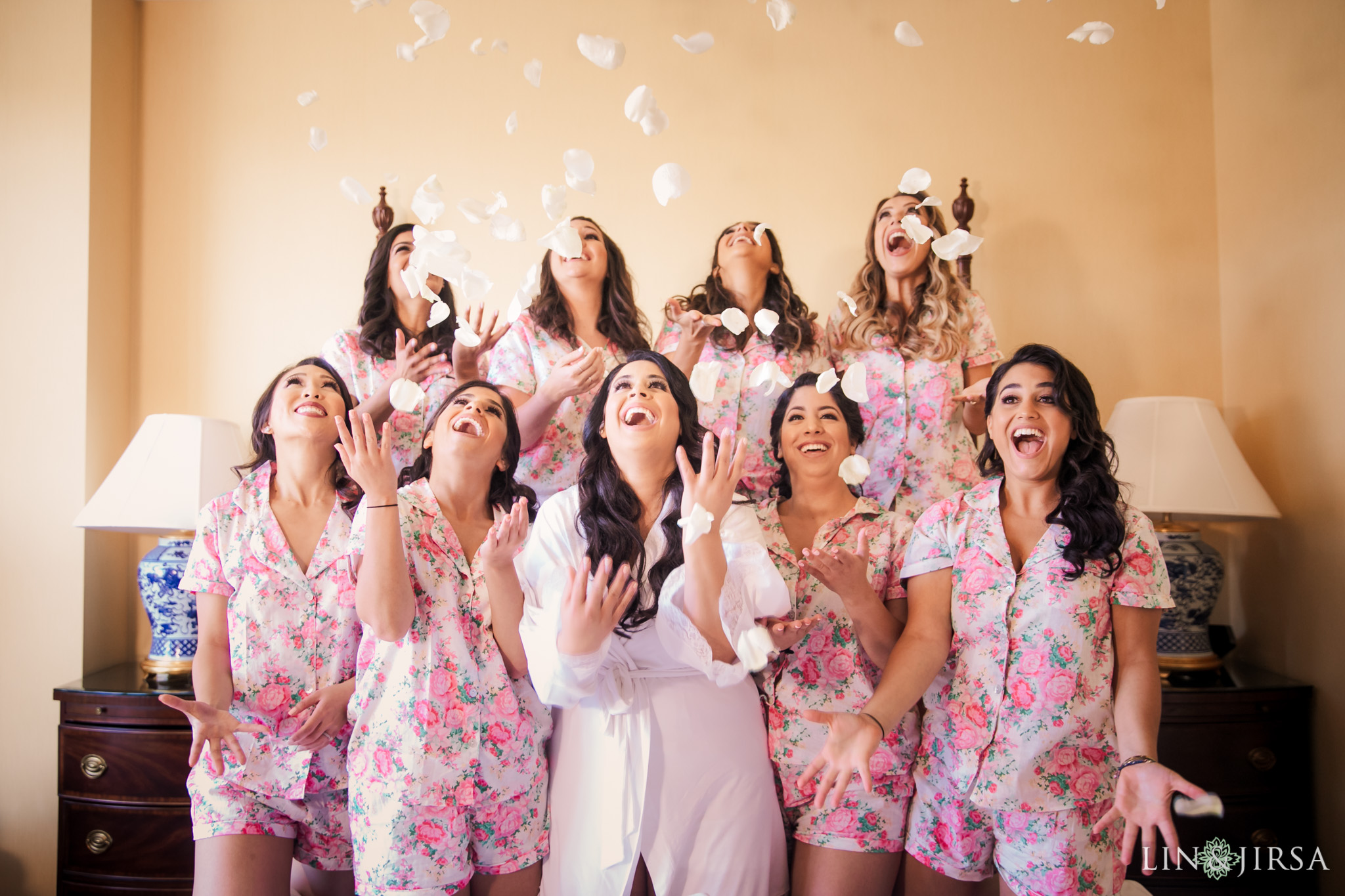 03 four seasons westlake village bridesmaids wedding photography