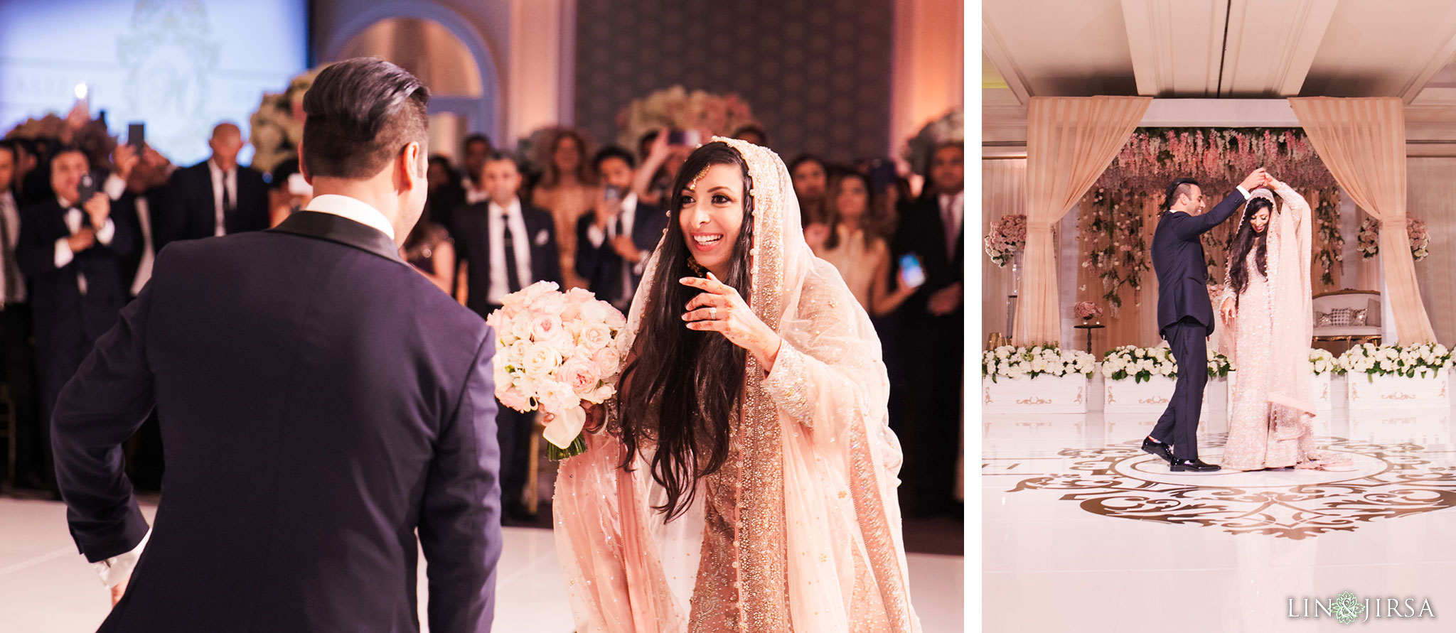 031 ritz carlton laguna niguel south asian wedding reception photography