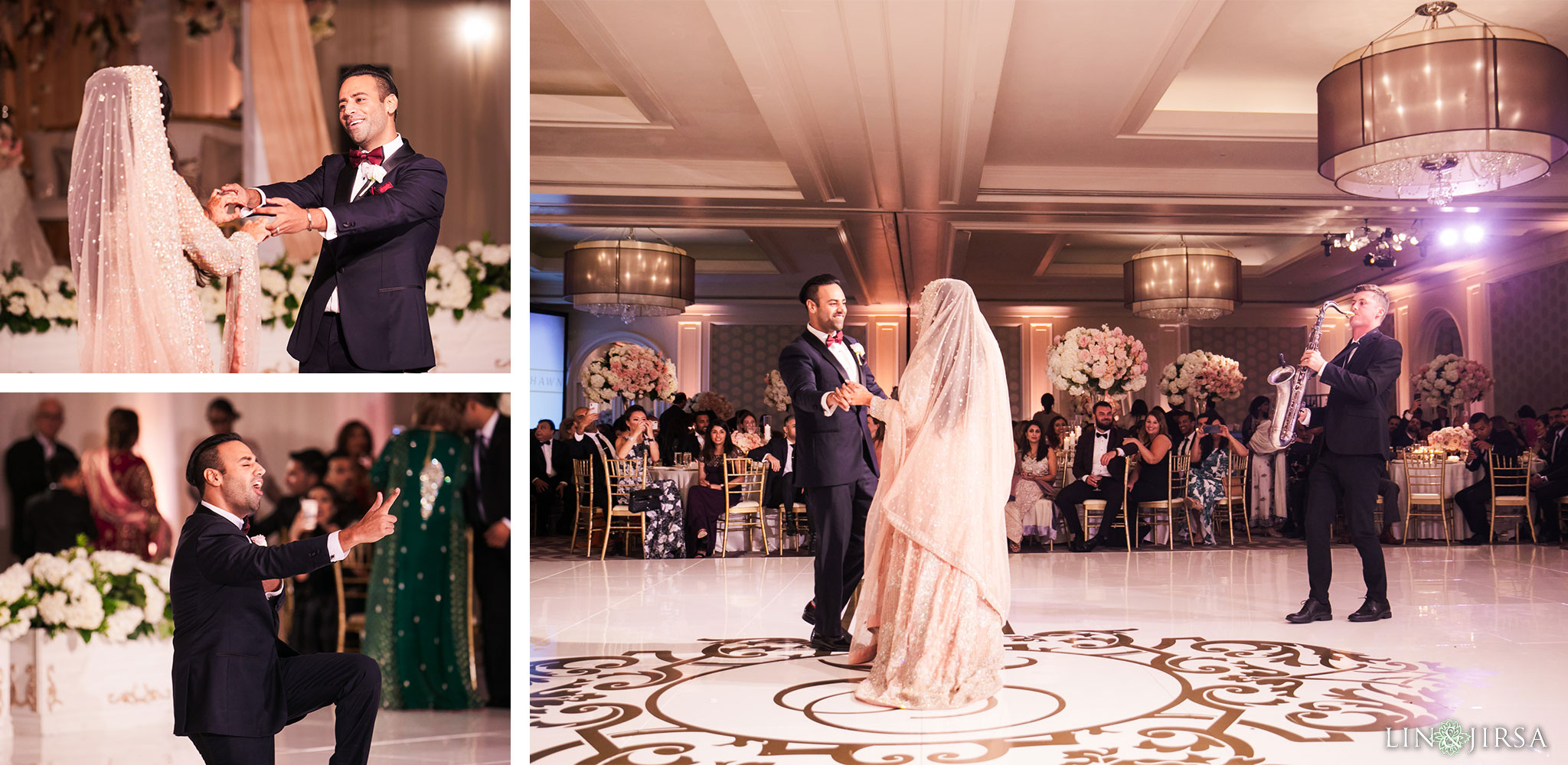 033 ritz carlton laguna niguel first dance wedding reception photography