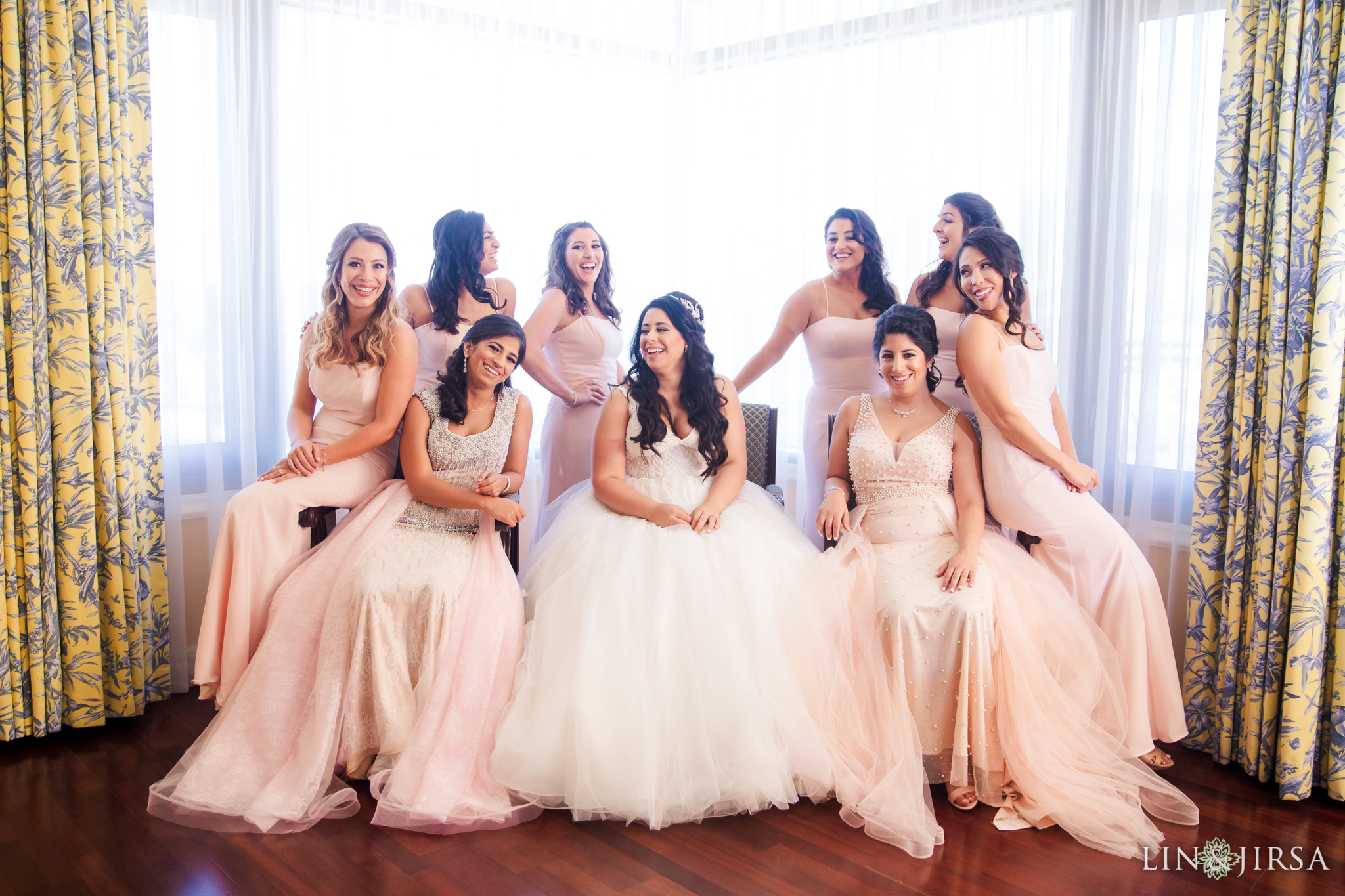 05 four seasons westlake village bridesmaids wedding photography