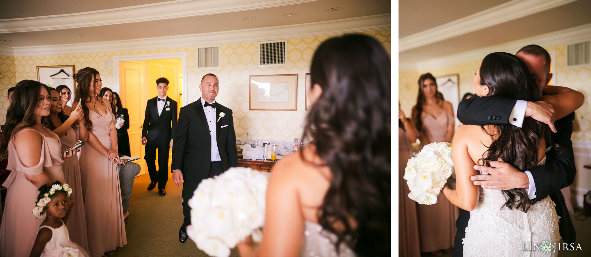 07 park hyatt aviara san diego dad first look wedding photography