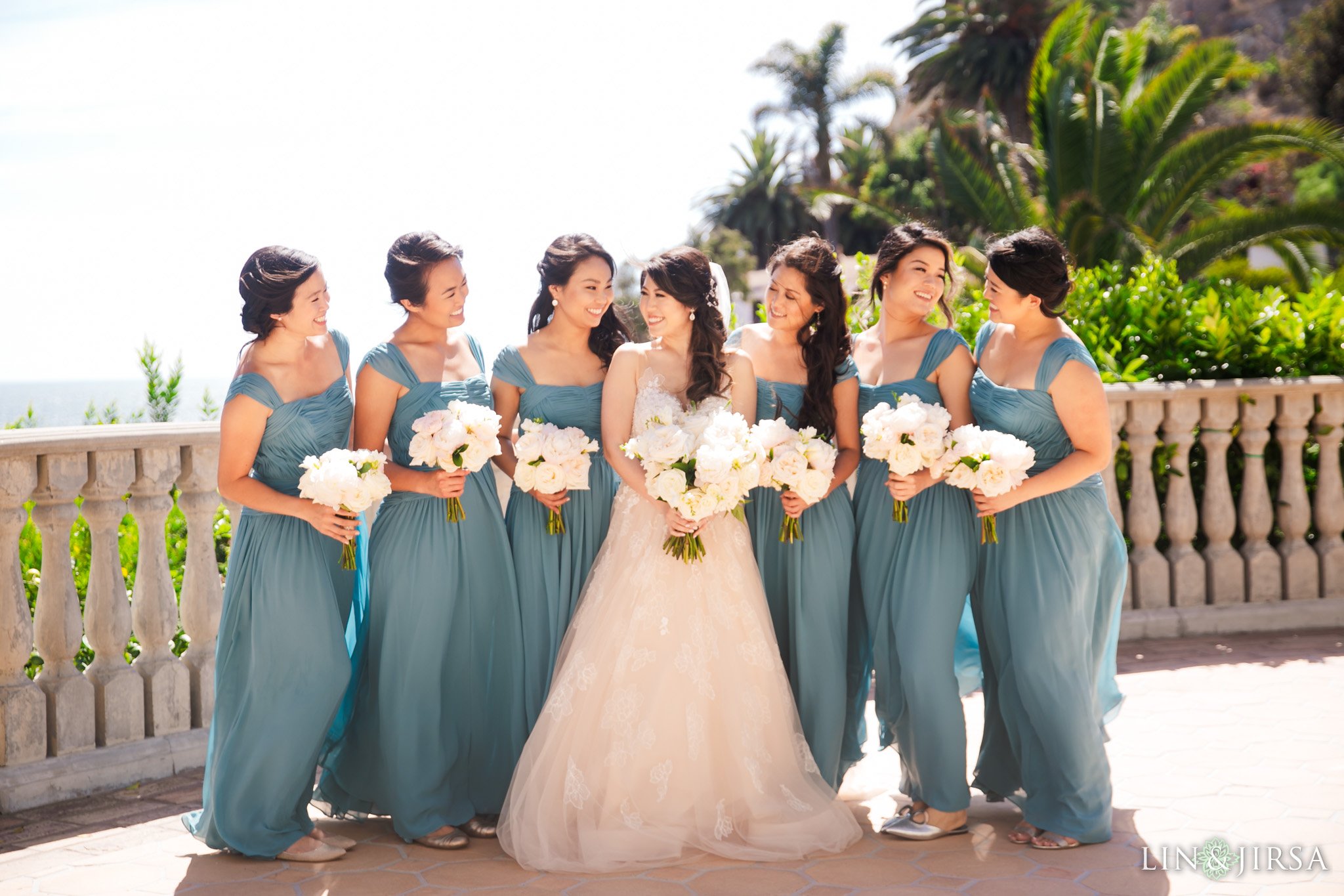 10 bel air bay club malibu bridesmaids wedding photography