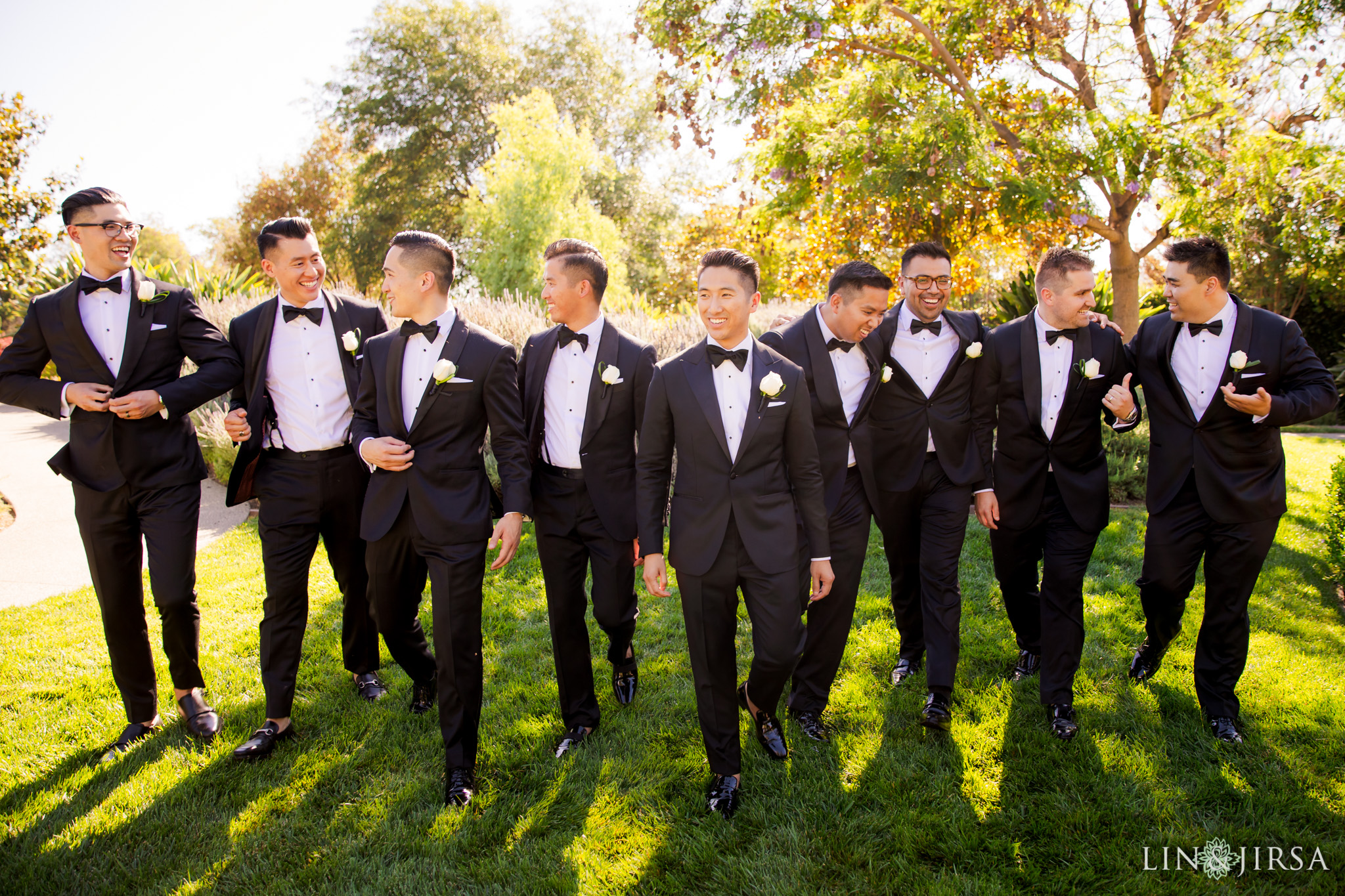 12 four seasons westlake village groomsmen wedding photography