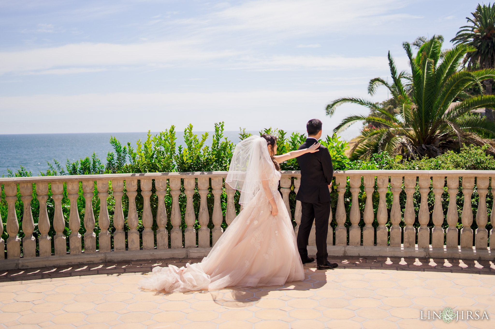 16 bel air bay club malibu wedding first look photography