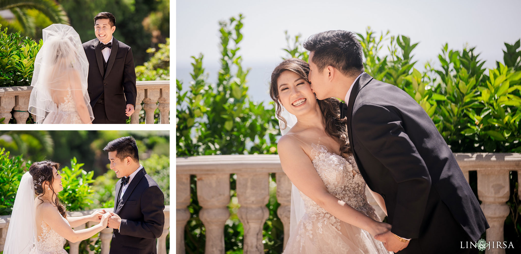 17 bel air bay club malibu wedding first look photography